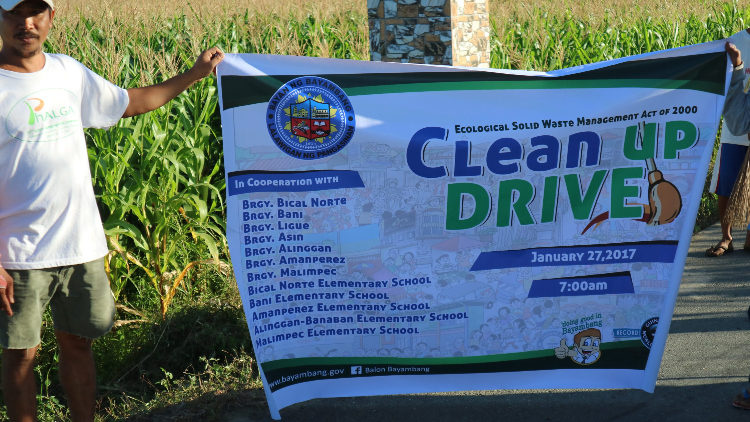 Clean Up Drive 2017