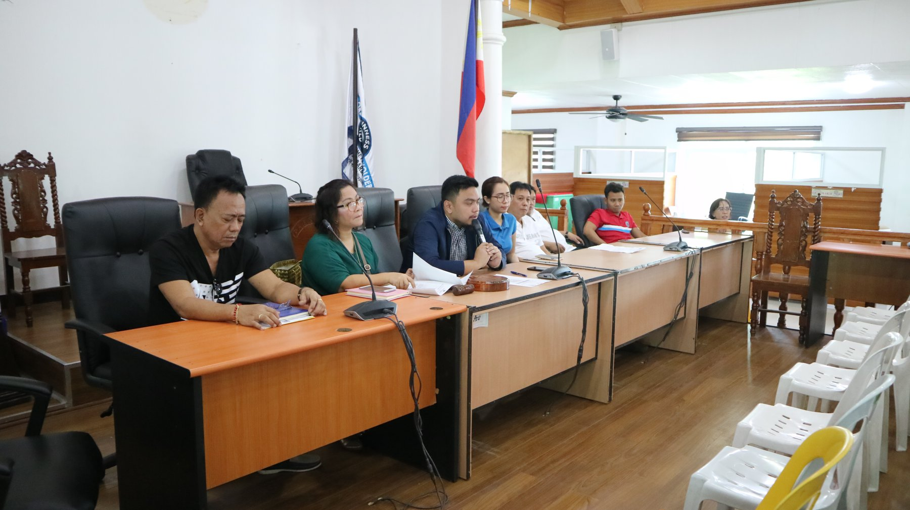 Public Hearing Held re. Proposed Prohibition of Plants and Structures Obstructing NAPOCOR Lines