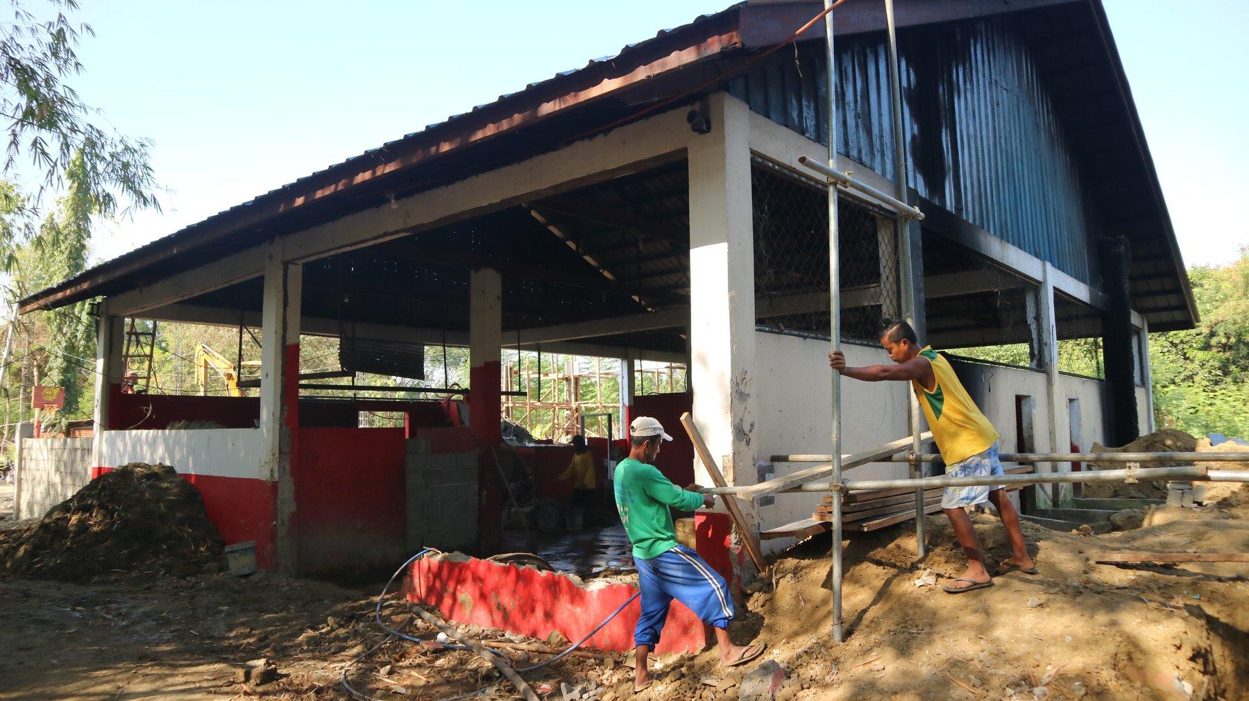 ONGOING: Municipal Slaughterhouse under expansion, renovation
