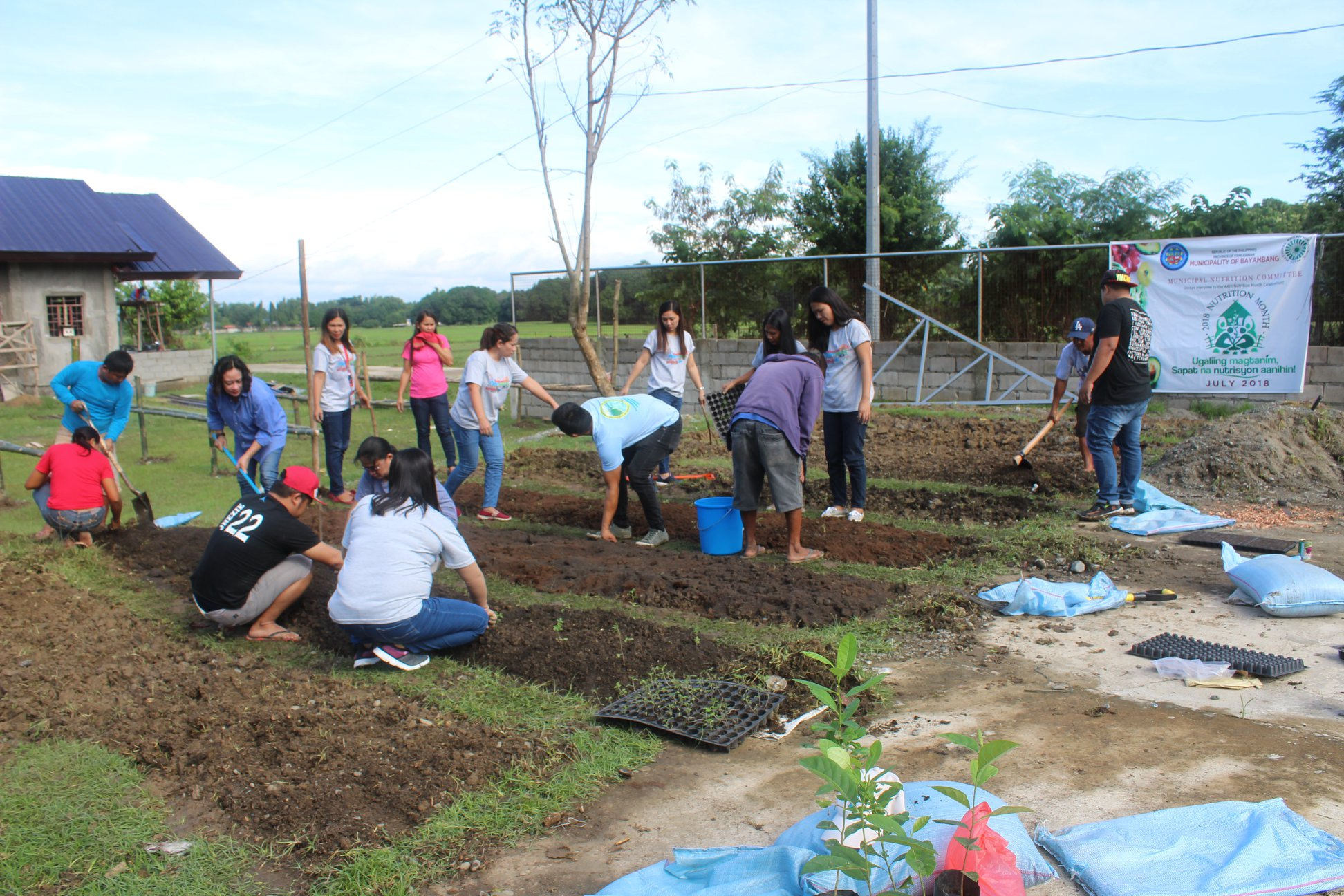 Vegetable garden put up at RHU IV
