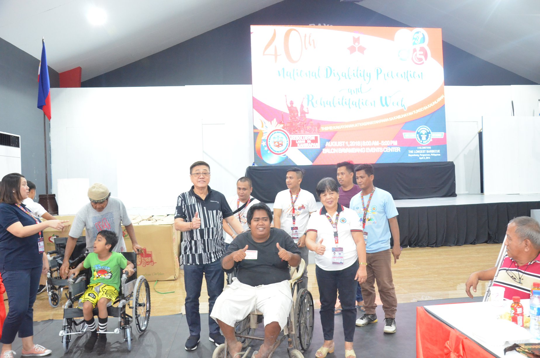 """@ 40TH NATIONAL DISABILITY PREVENTION AND REHABILITATION WEEK: PWDs are """"Persons with Different Abilities,"""" """"Persons with Dreams,"""" """"Persons with Determination"""""""