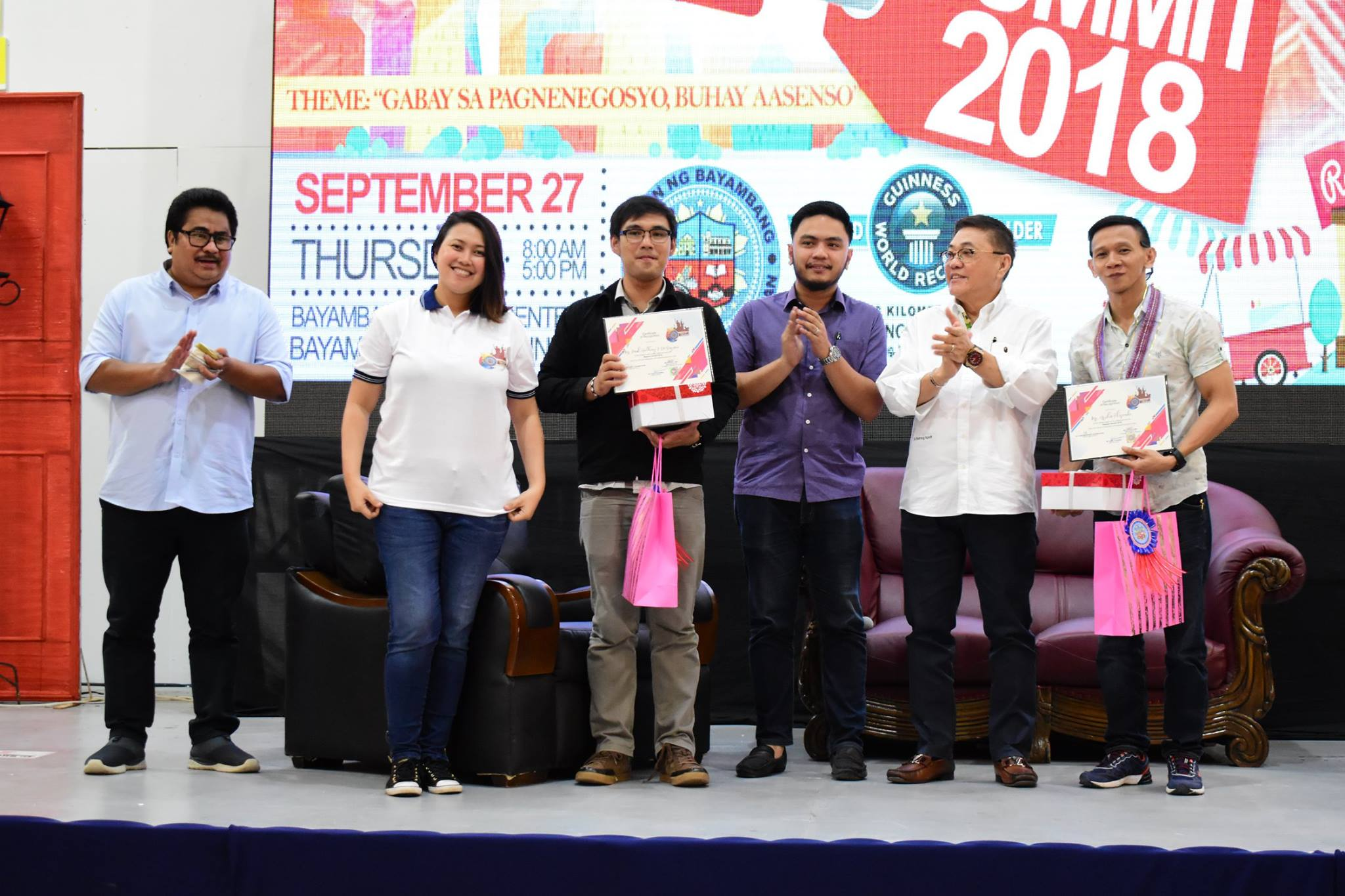 """@ THE NEGOSYO SUMMIT: """"They all started small."""" – MCTQ"""