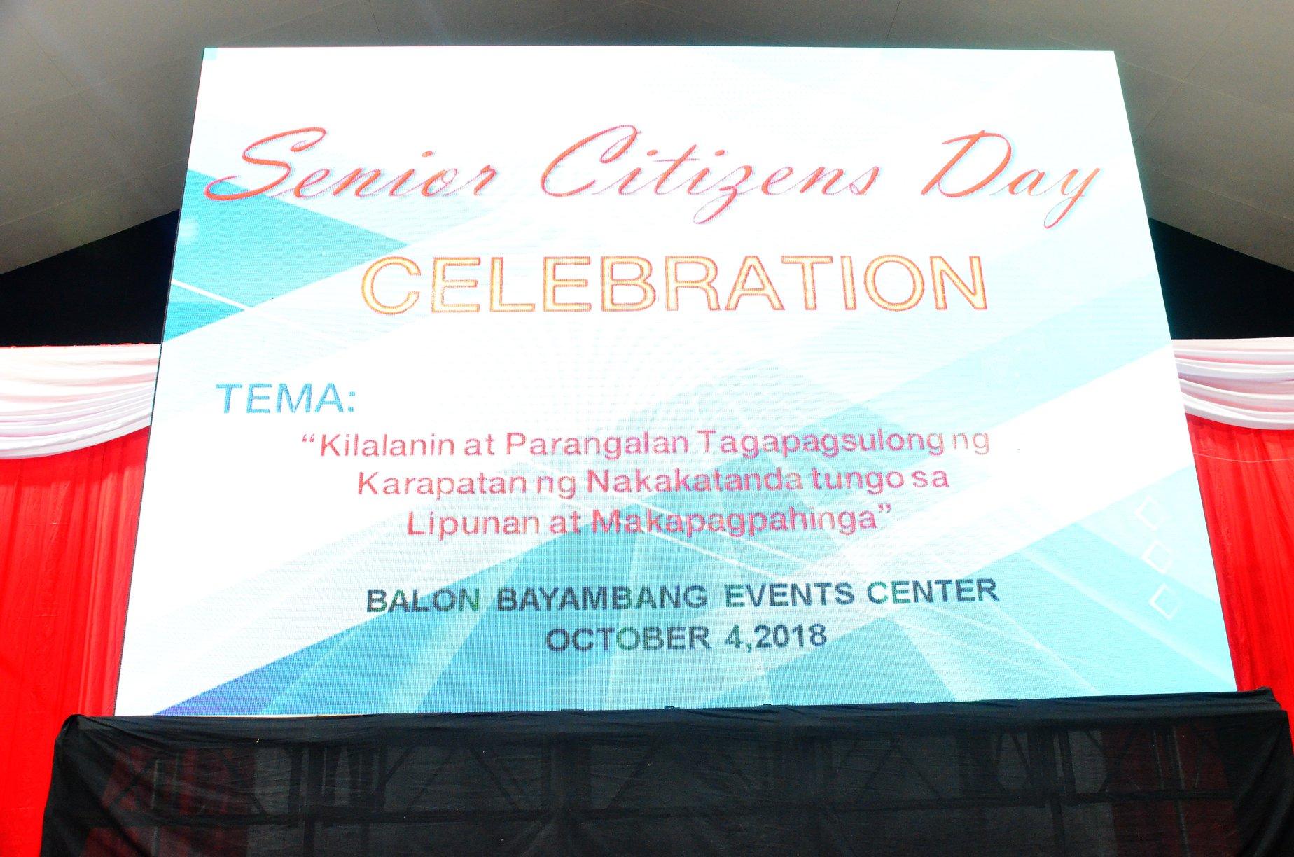 Senior Citizen's Day 2018: Pagkilala sa mahalagang papel ng nakatatanda