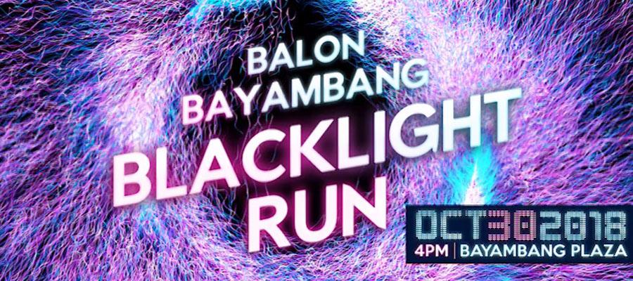 BALON BAYAMBANG BLACKLIGHT RUN   Glow-in-the-Dark Fun