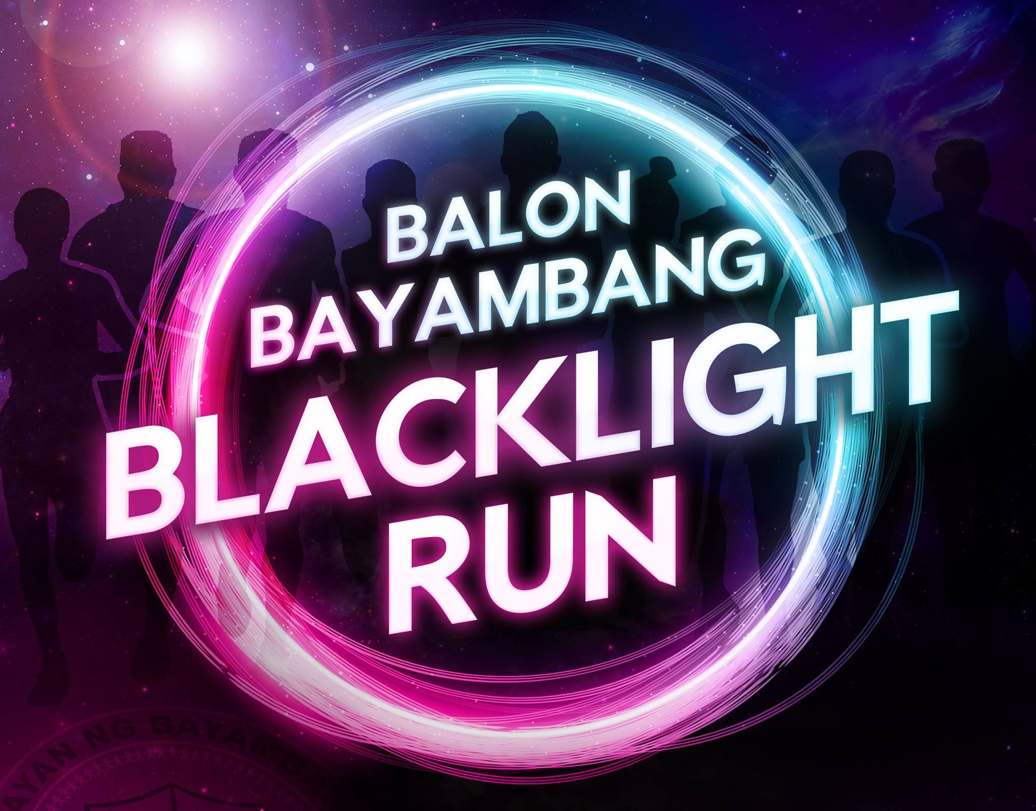 BALON BAYAMBANG BLACKLIGHT RUN | Glow-in-the-Dark Fun