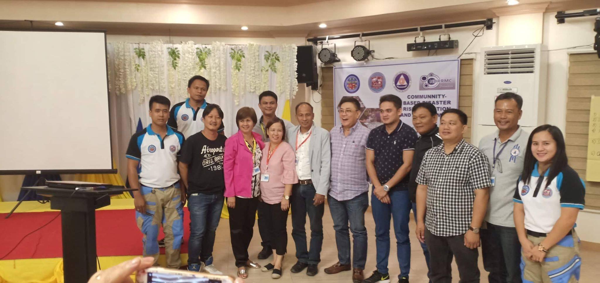 Barangay Captains, DepEd SupervisorsPrincipals, & SK Take CBDRRM Course