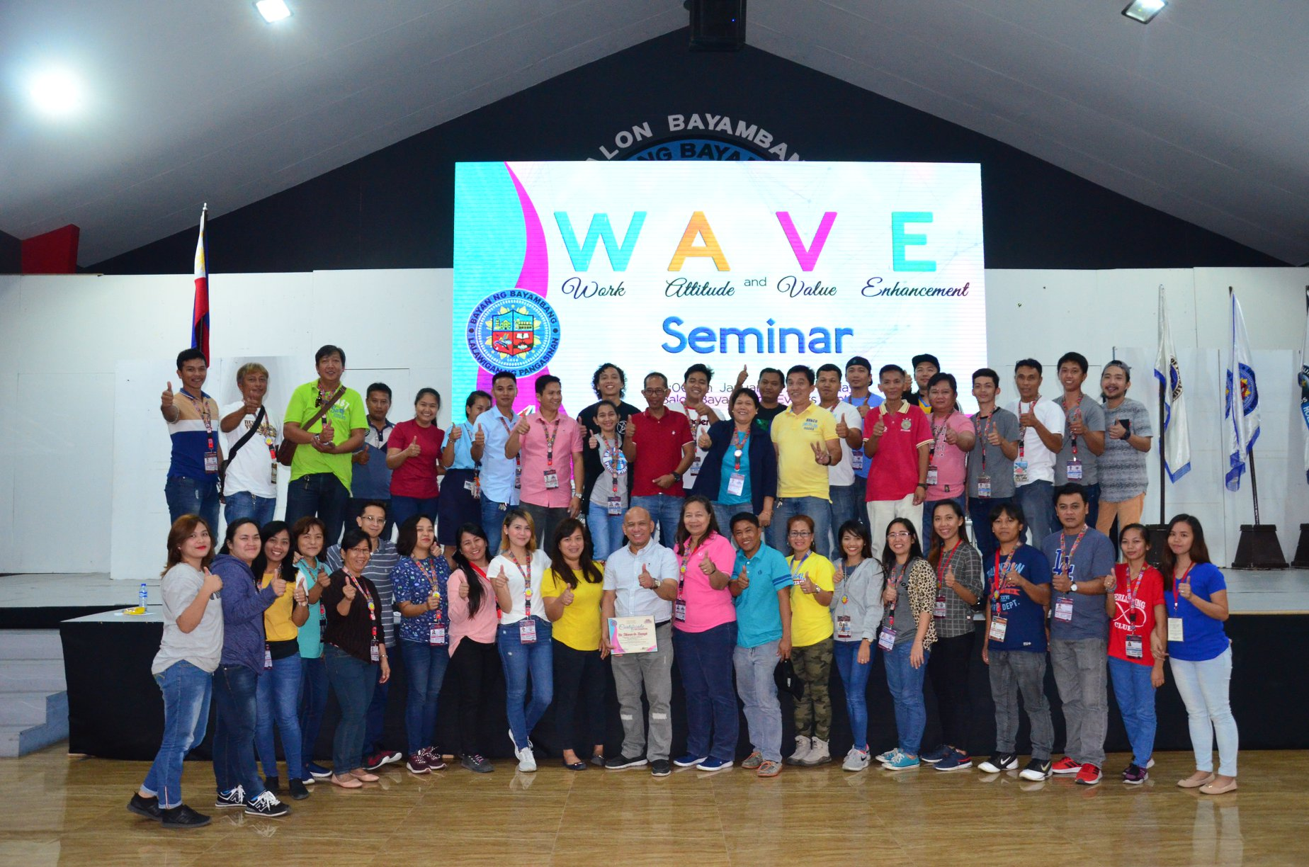LGU Employees, Dumalong Muli sa WAVE Seminar ng HRMO