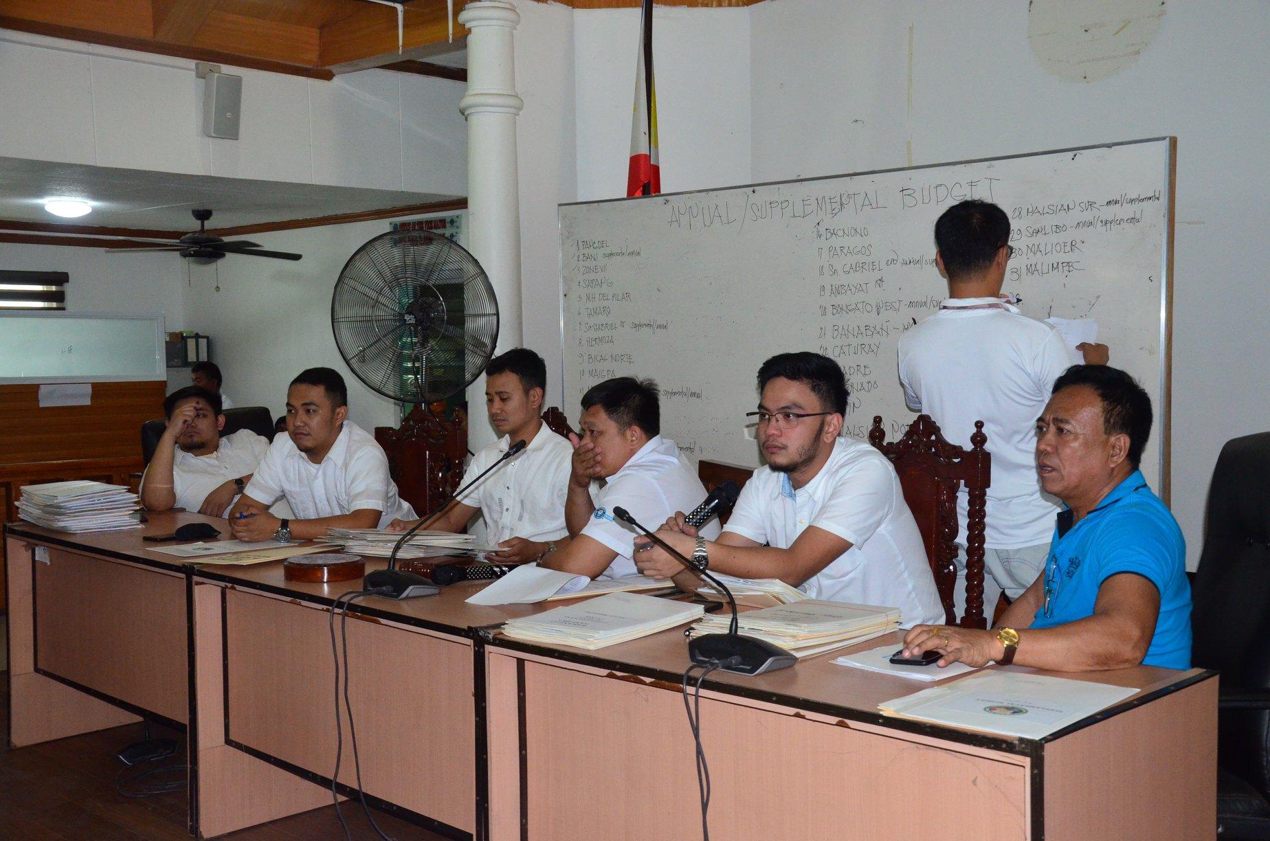 SB, Nag-Public Hearing Ukol sa Budget ng mga Barangay