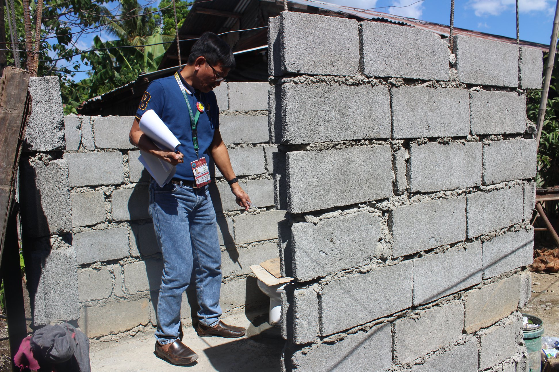 RHU 1, Nag-Inspeksiyon para sa 800-Unit Toilet Project ni Mayor CTQ para sa 4Ps