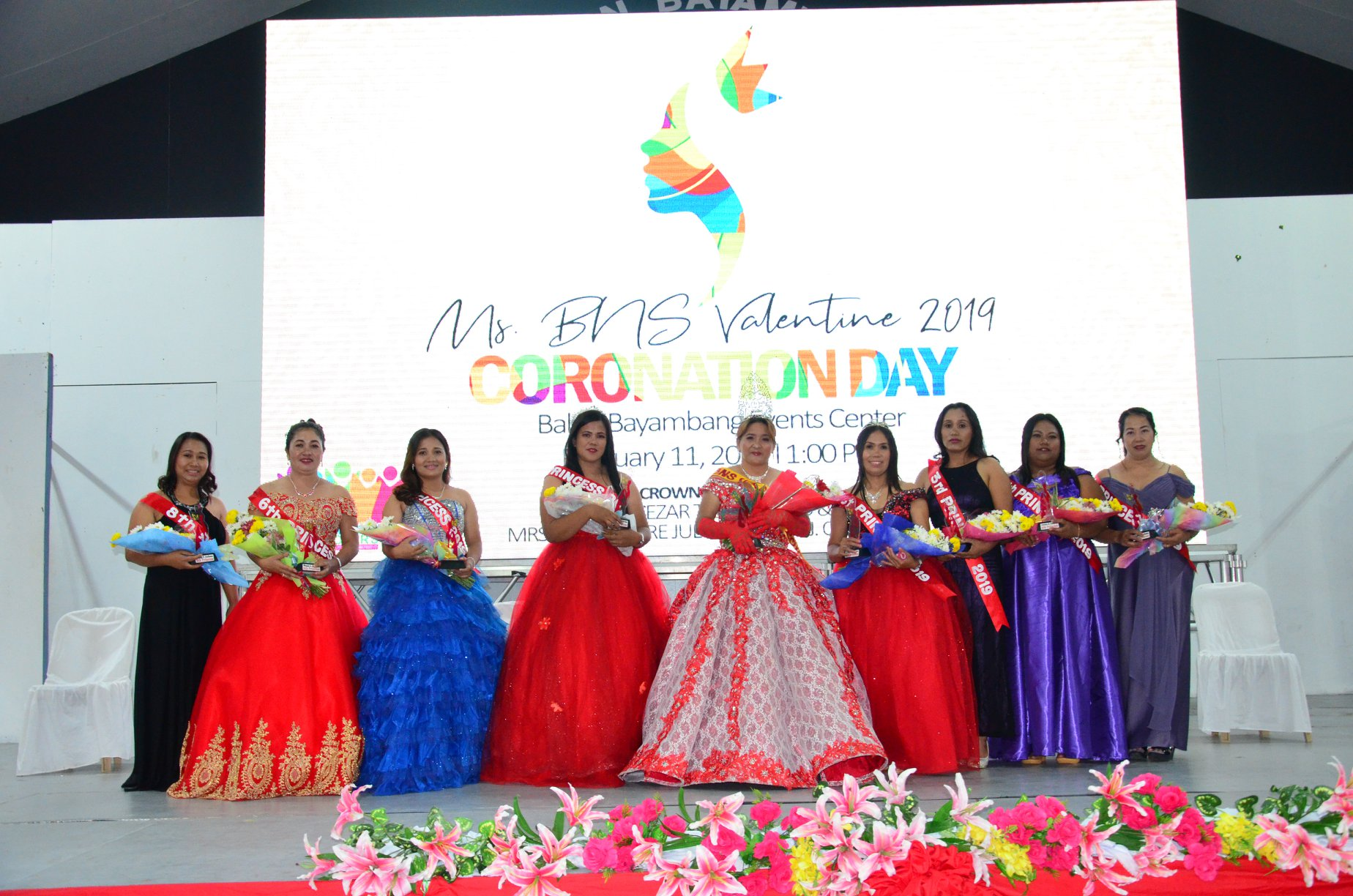 Ms. BNS Valentine 2019 Coronation Day, Ginanap sa Events Center