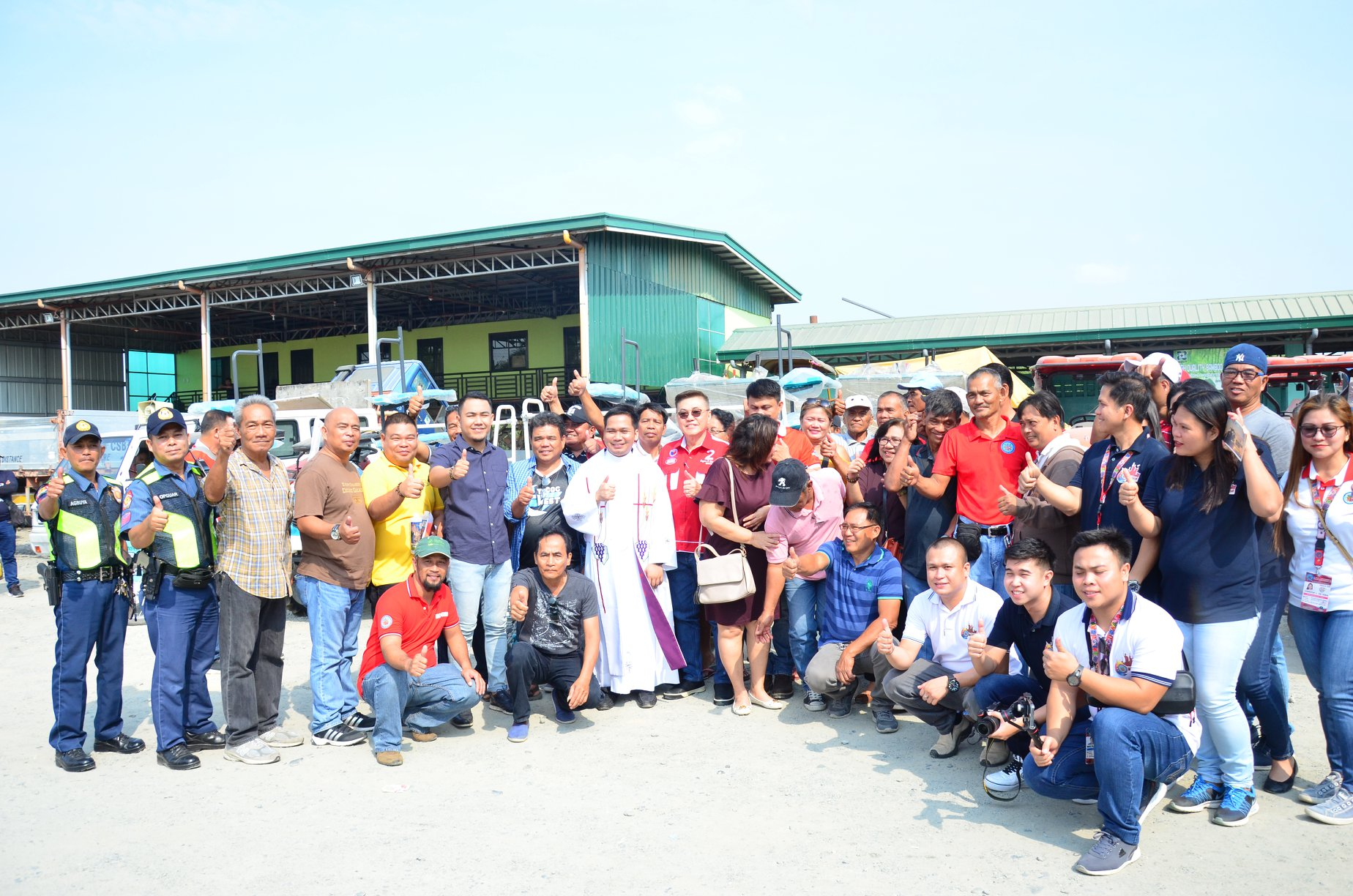 Blessing and Awarding of Farm Machinery