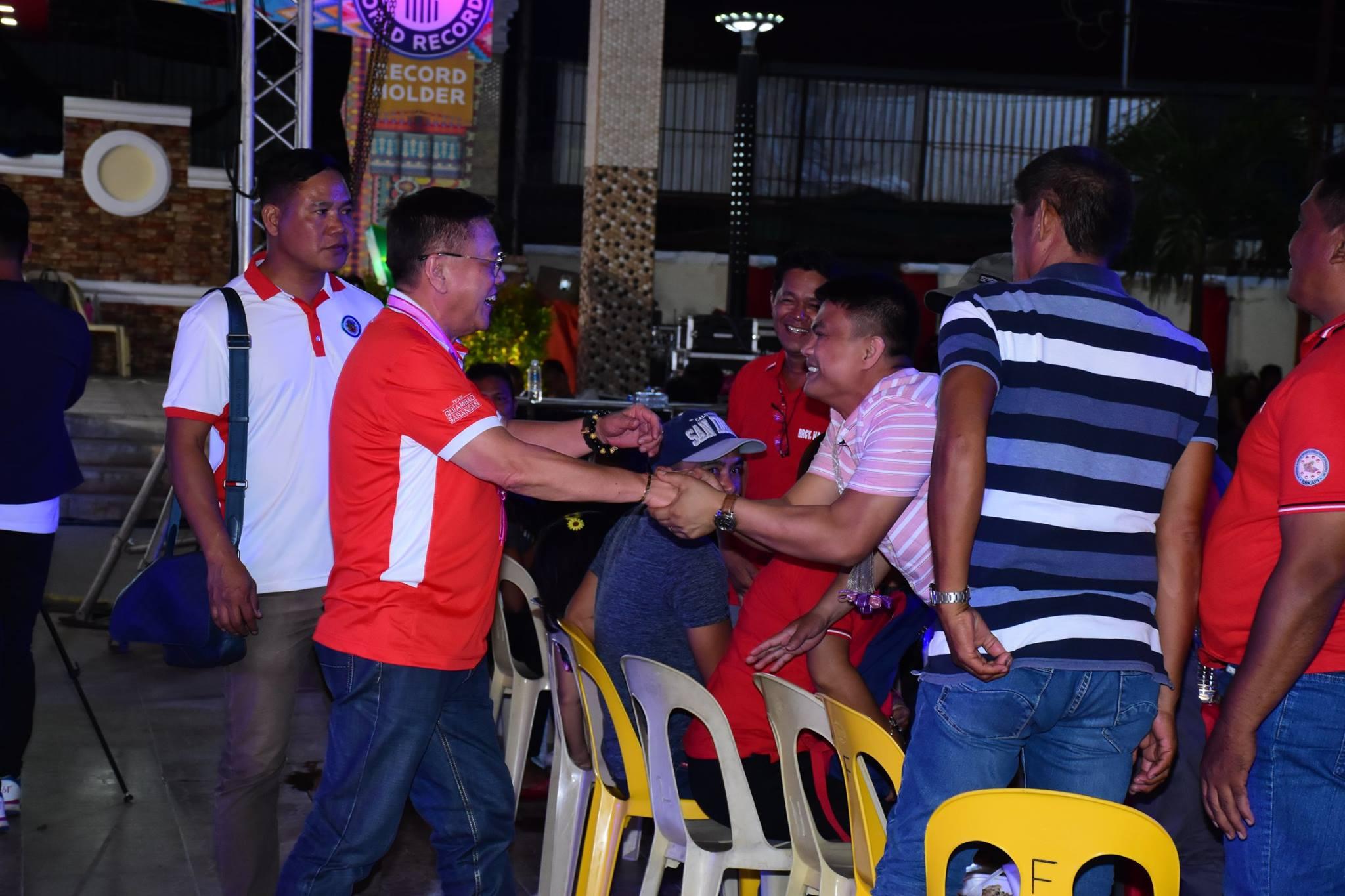Pagpupugay sa Barangay Officials