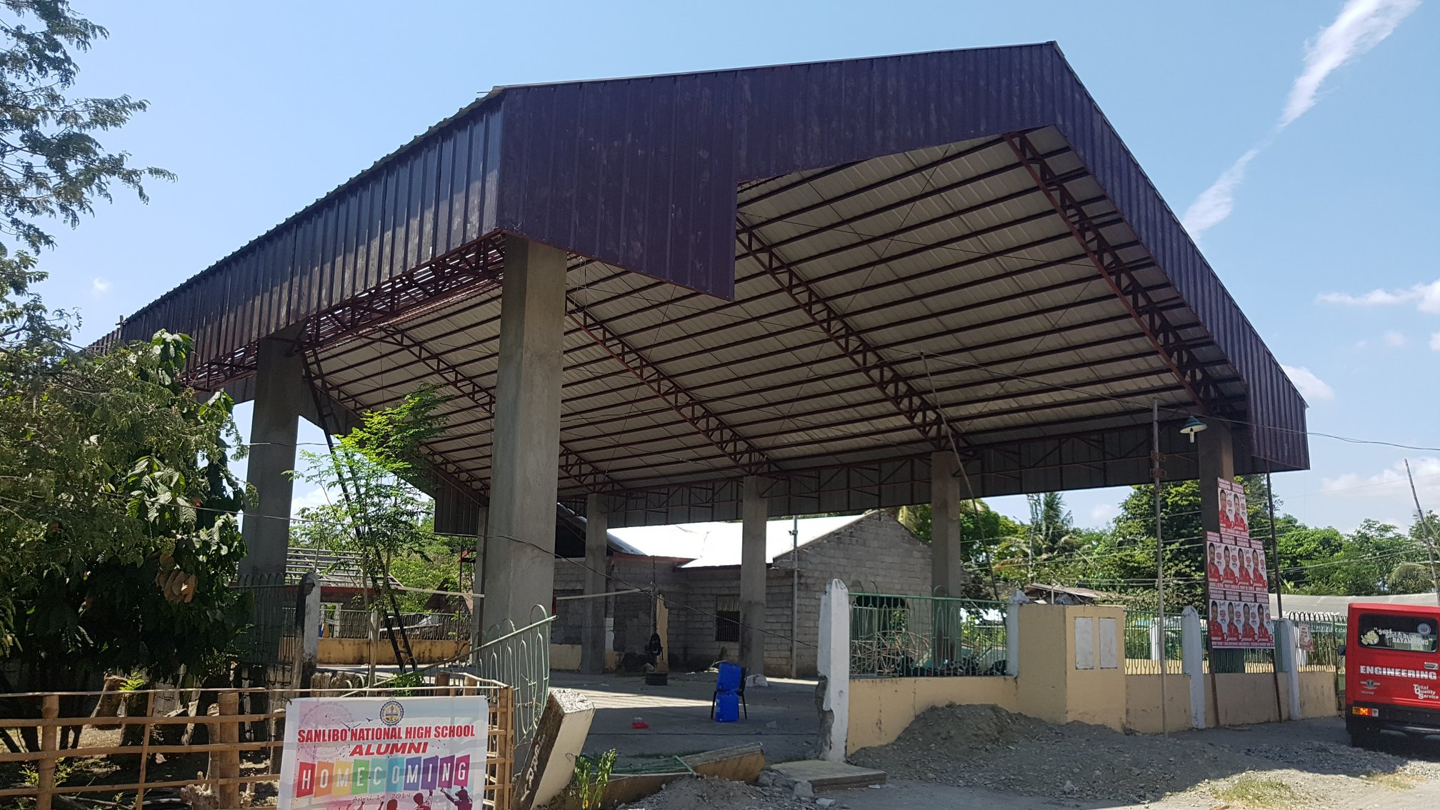 COMPLETED: Construction of Covered Courts in Brgy. Idong, Malimpec, Sanlibo, Malioer, Pugo, Wawa, and more…