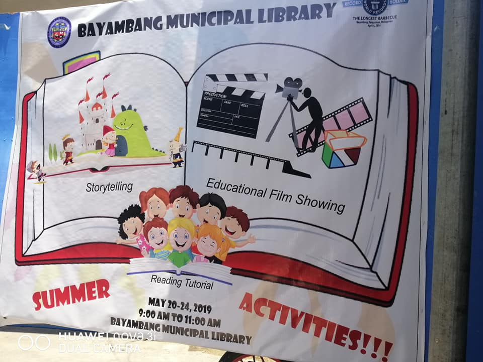 Municipal Library, Nag-organisa ng Fun Summer Activities for Kids