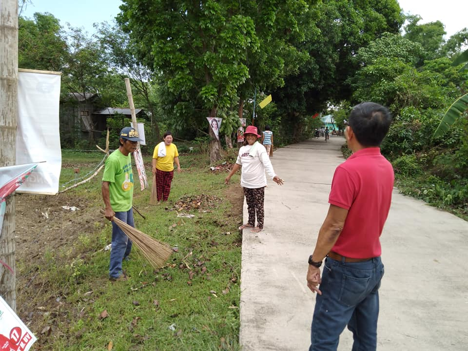 ONGOING | 'Aksyon Barangay Kontra Dengue' (ABKD) Clean-Up Drive