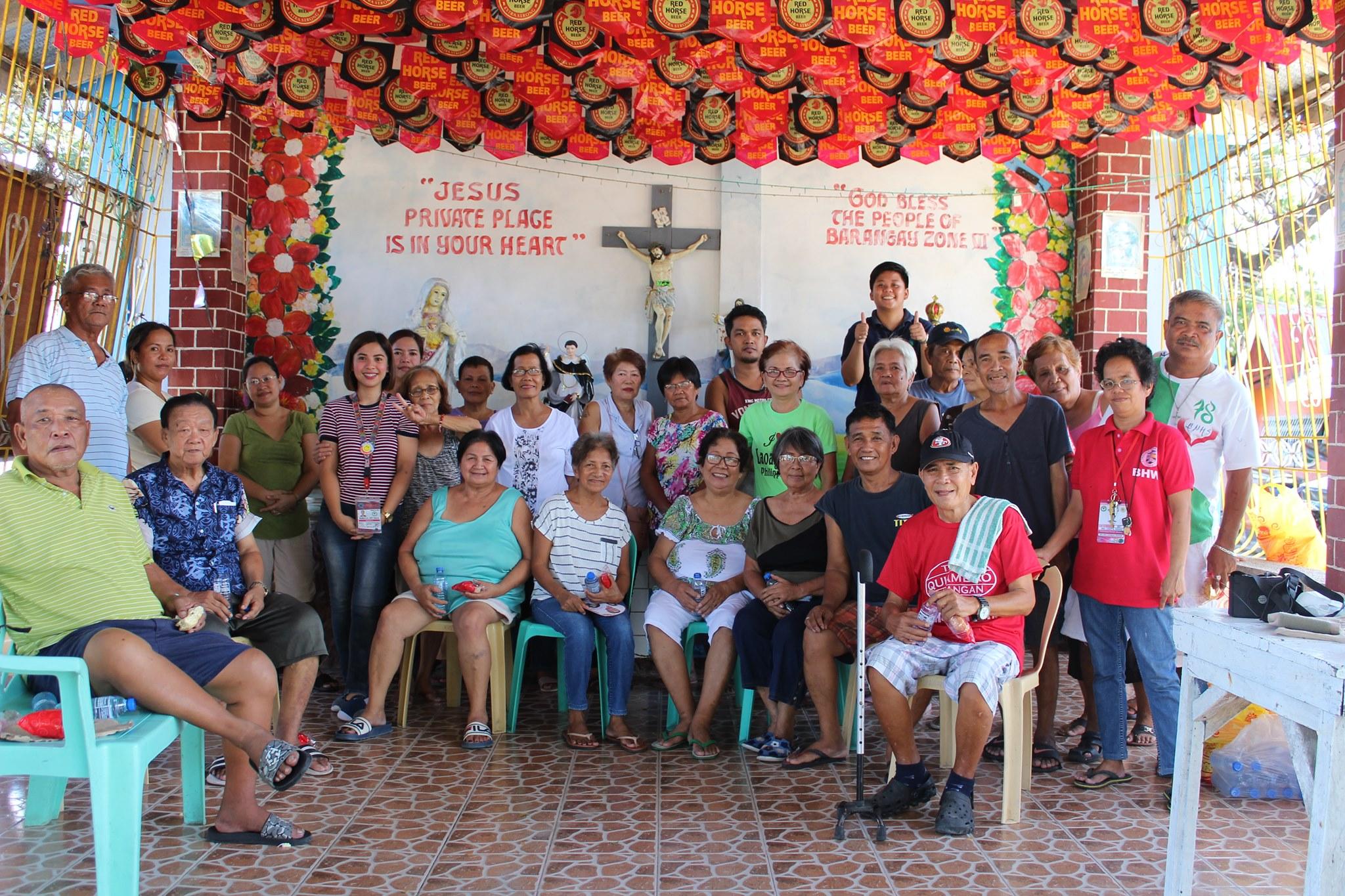 Health Teaching in Barangay Zone VI and Barangay Tamaro.