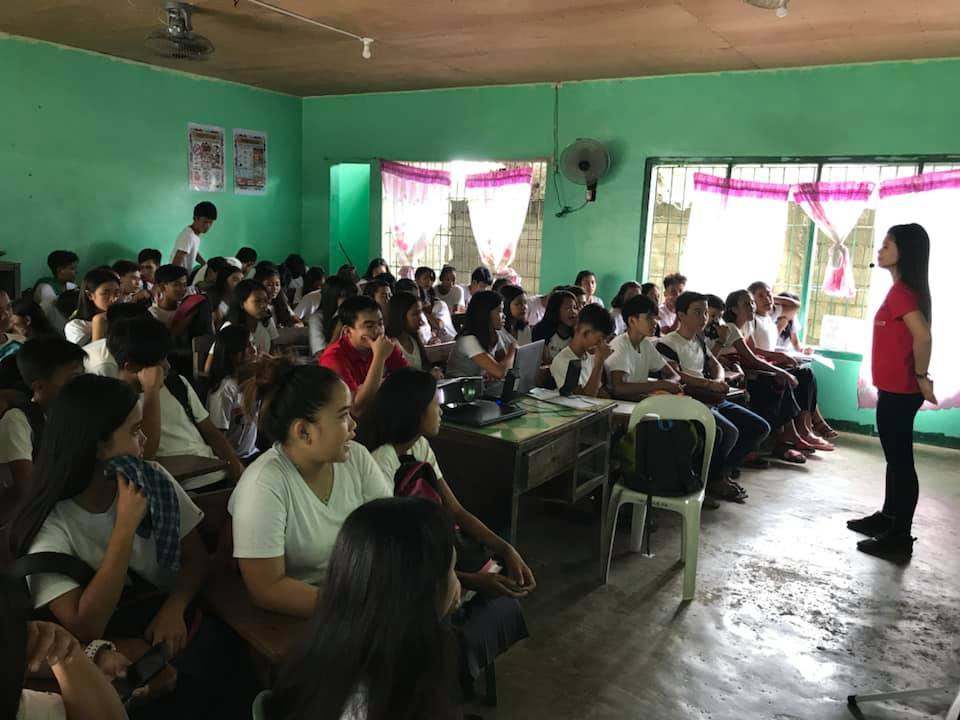 """RHU II Conducts """"Healthy Young Ones"""" Lecture at Hermoza National High School, June 27, 2019 for Grade 7, 8 and 9 Students"""