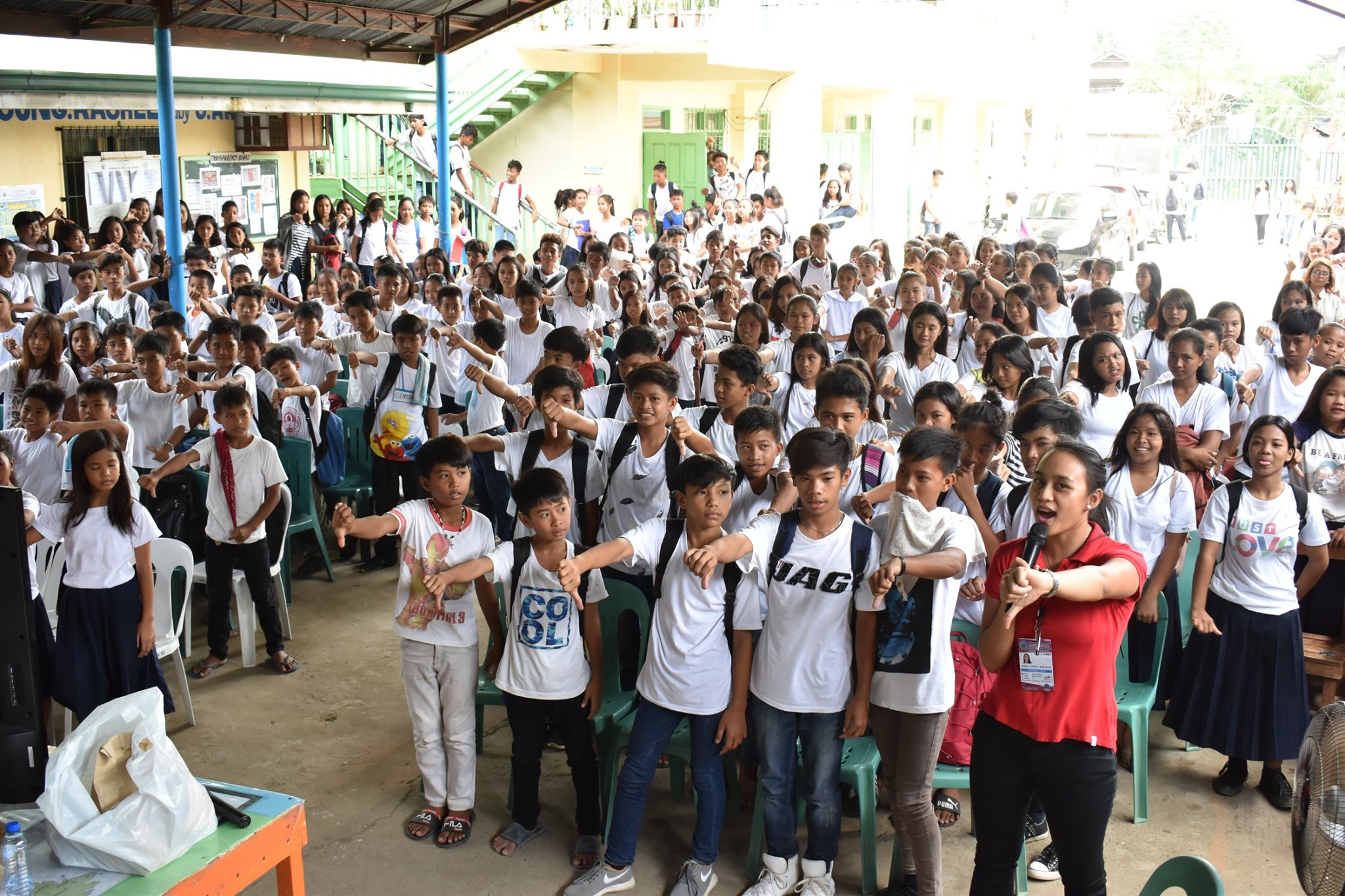Anti-BullyingAnti-Child Labor Drive Goes to Hermoza ES, 6.27.2019