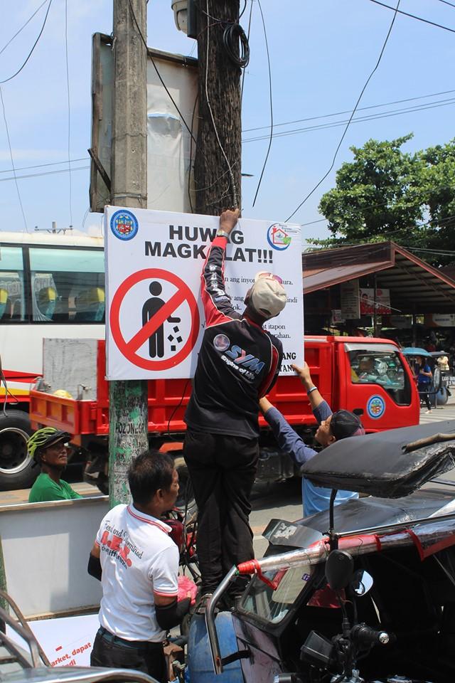 Kampanya Kontra Basura, Pinaigting sa Public Market