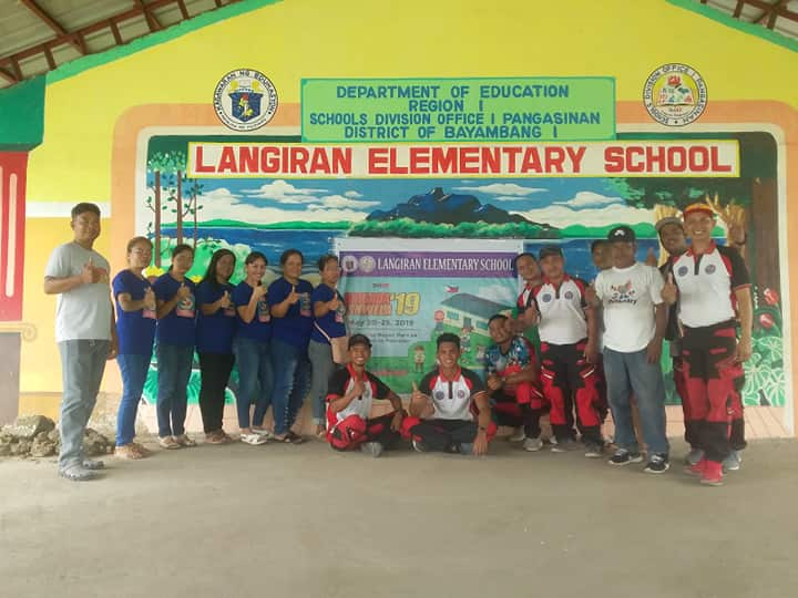 MDRRMO assists in Brigada Eskwela 2019