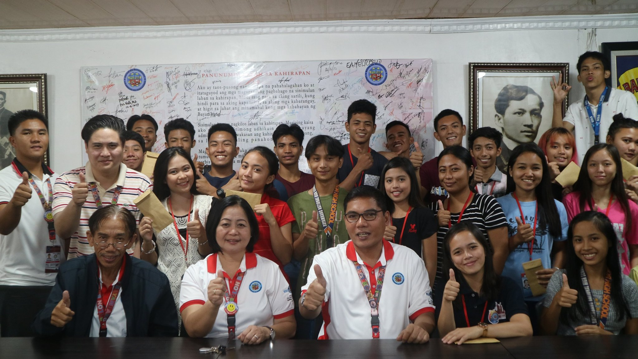 30 Summer Job Beneficiaries, Nagtapos