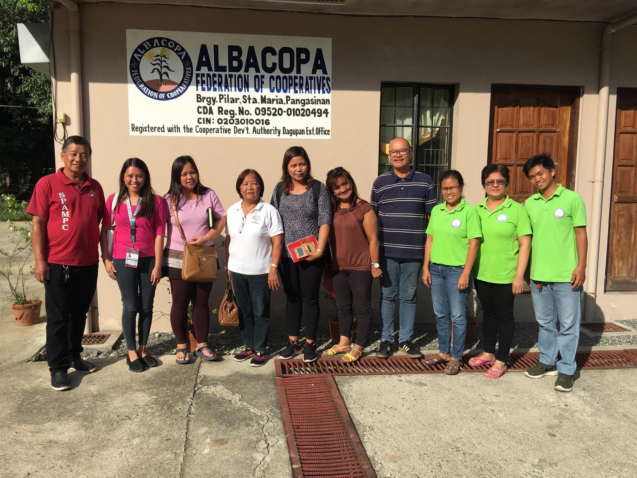 Mangabul Seed Growers Coop, Nakipagpulong sa ALBACOPA Federation Coop