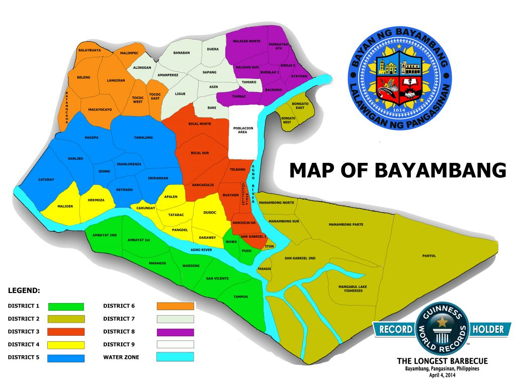 (tarpaulin) map of bayambang_revised