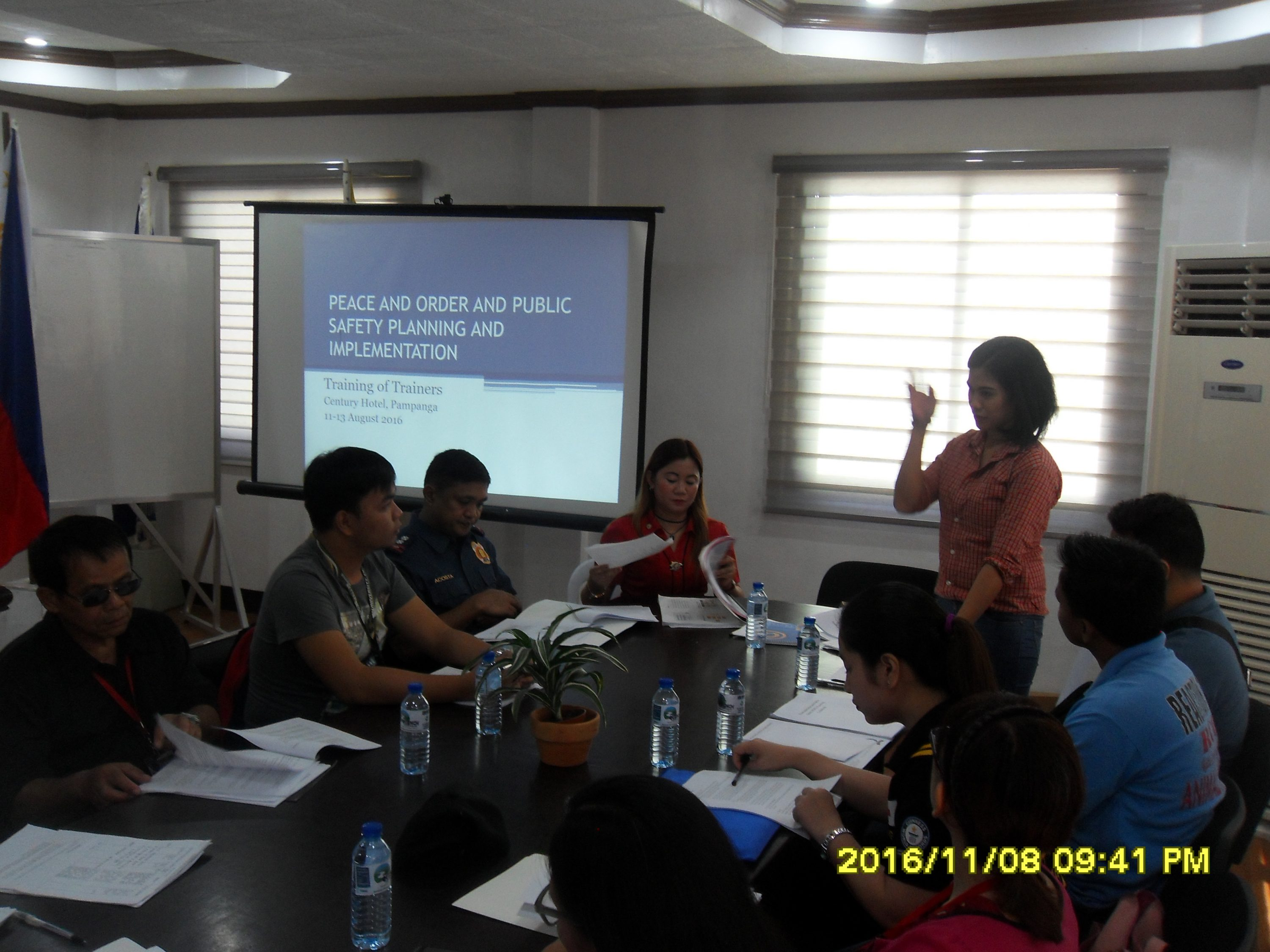 Peace and Order and Public Safety Planning Workshop Held - Balon