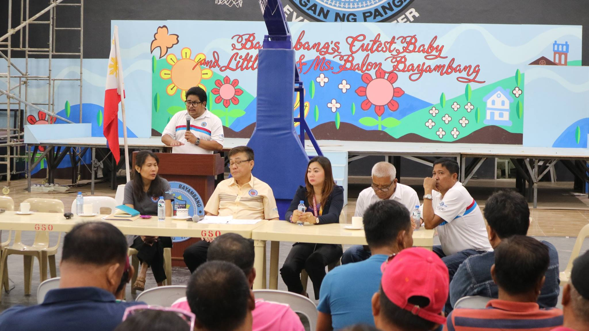 Barangay Captains Briefed on CBMS - Balon Bayambang