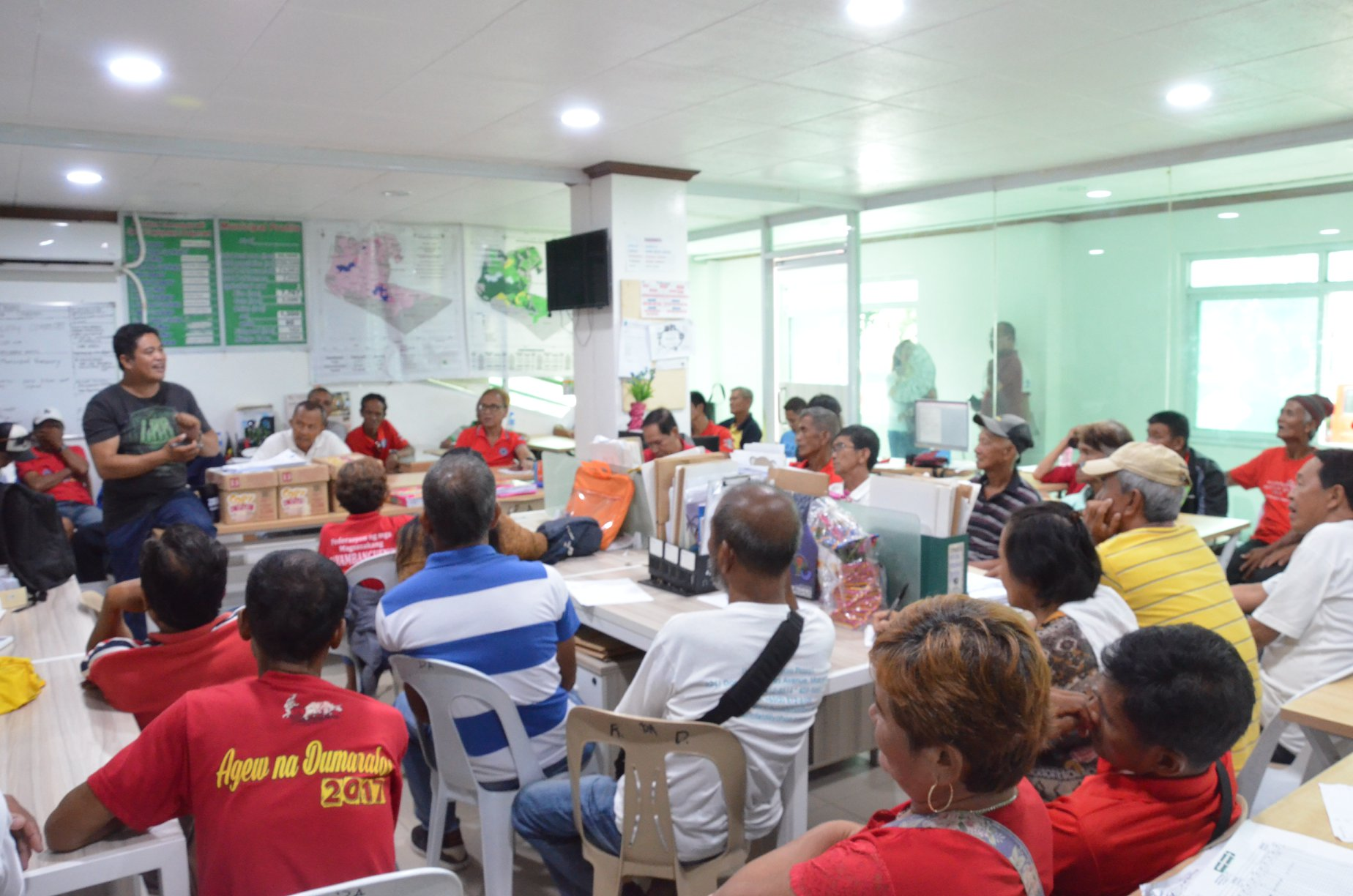 Barangay Farmers' Association presidents, pinulong ng Agriculture Office