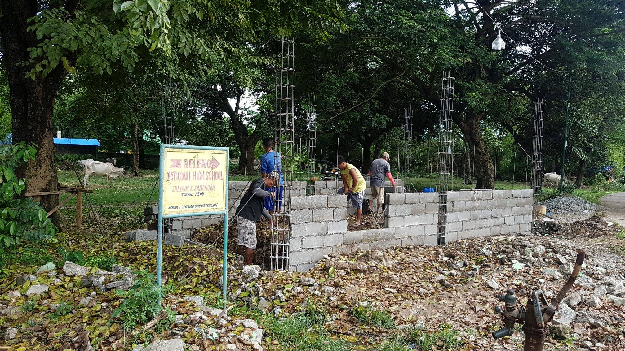 ONGOING: Construction of police community precinct (PCP) in Brgy. Beleng