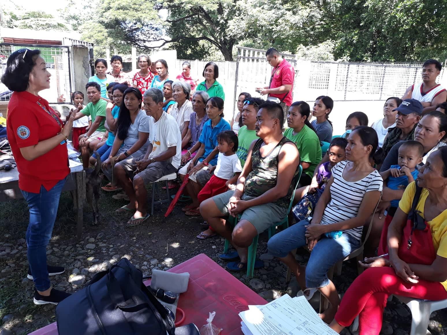 RHU I conducts TSeKaP and MDR distribution in different barangays