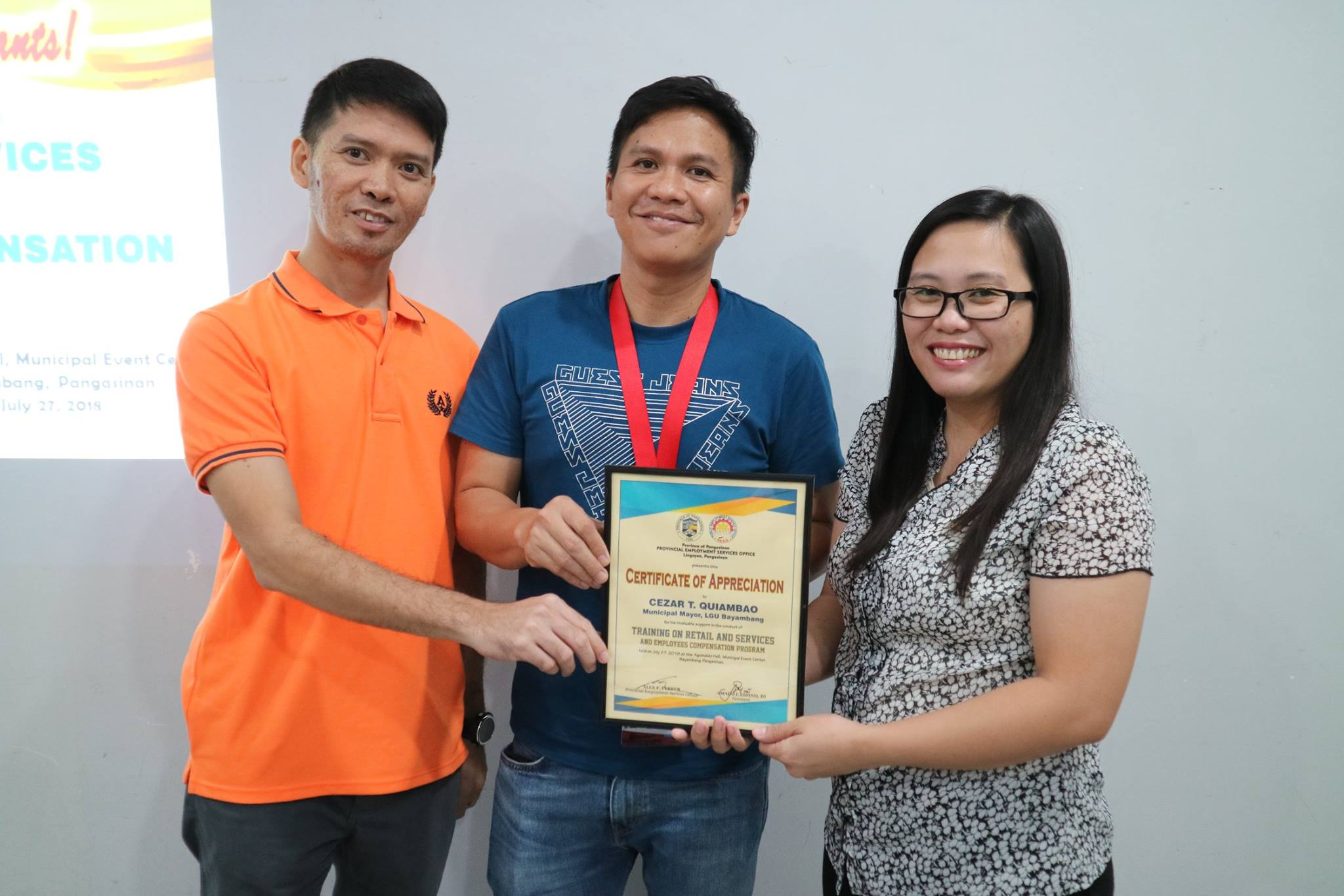 Pangasinan PESO conducts Retail and Services Training