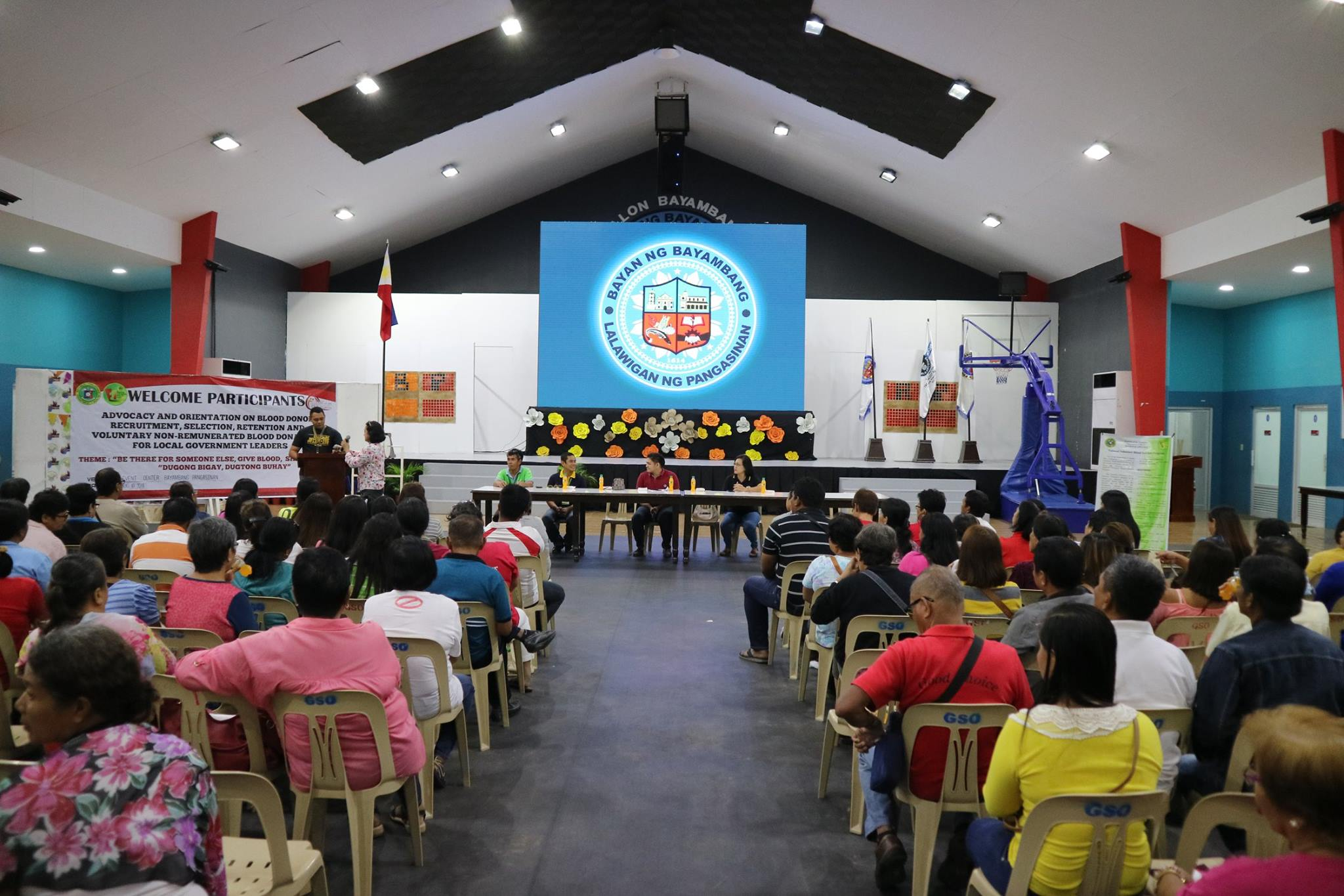 DOH conducts Orientation on Blood Donation Recruitment for barangay officials, BHWs and midwives