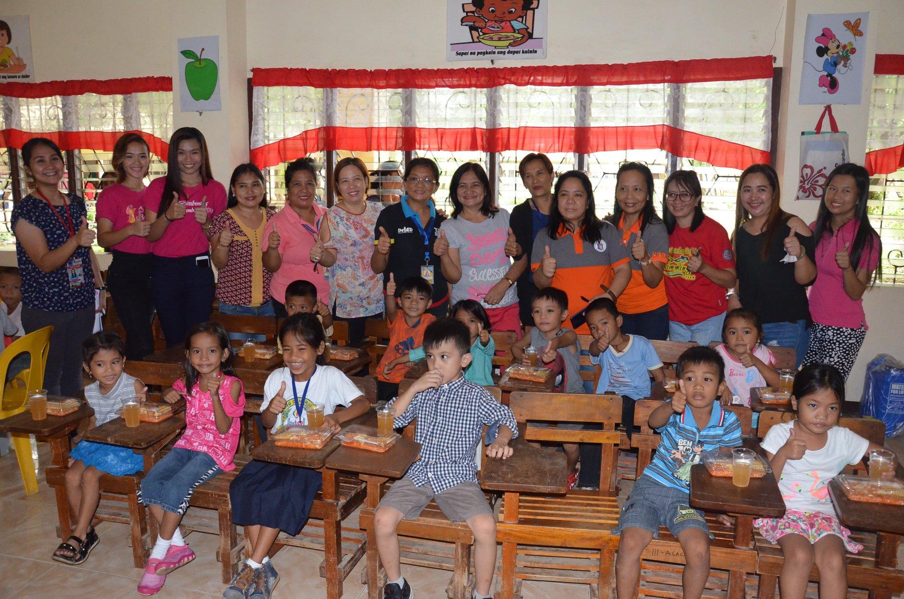 LCW starts series of feeding activities in selected schools