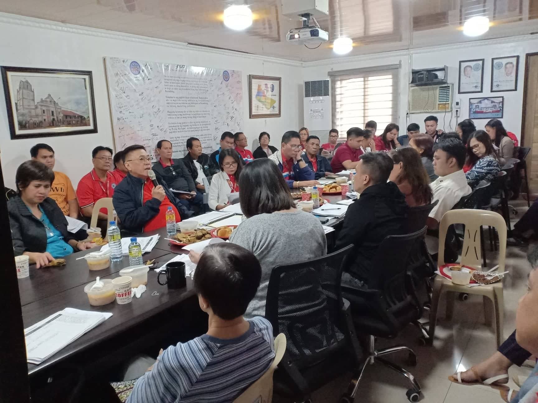 BPRP Team updates town on their coordination efforts for LGU's anti-poverty drive