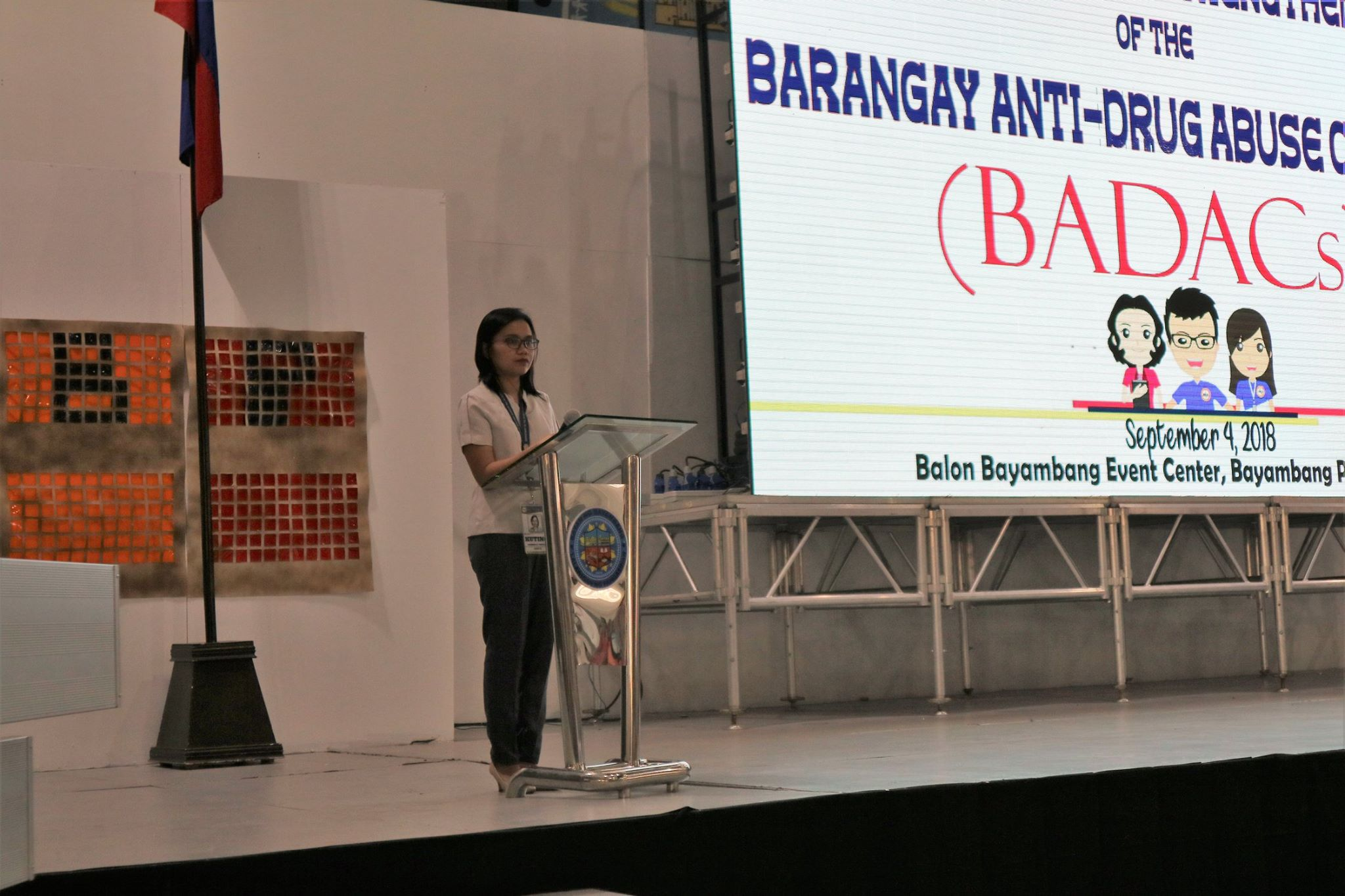 DILG nagsagawa ng 'Training on the Strengthening of the BADAC'