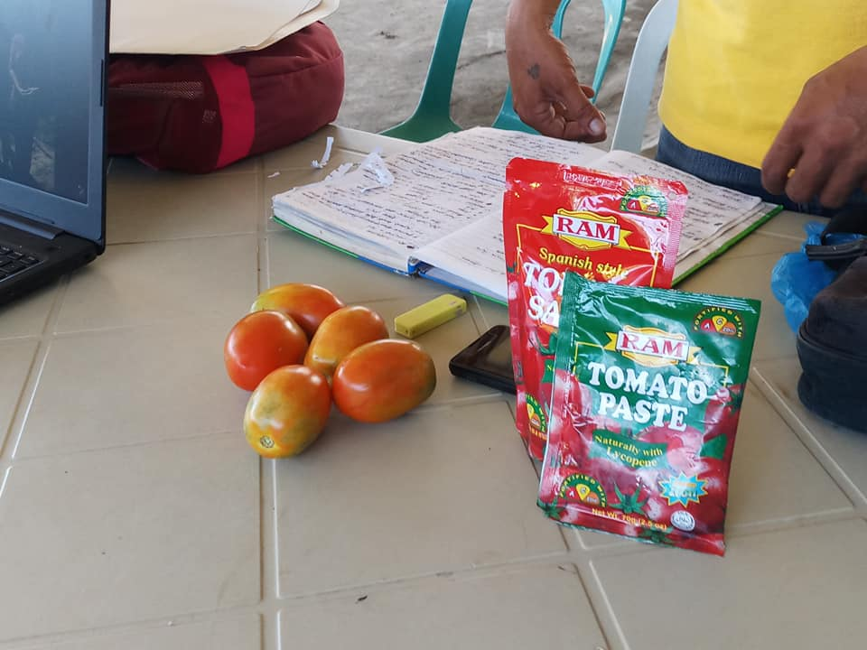 Orientation on contract growing of tomatoes with RAM Phils., conducted by MAO