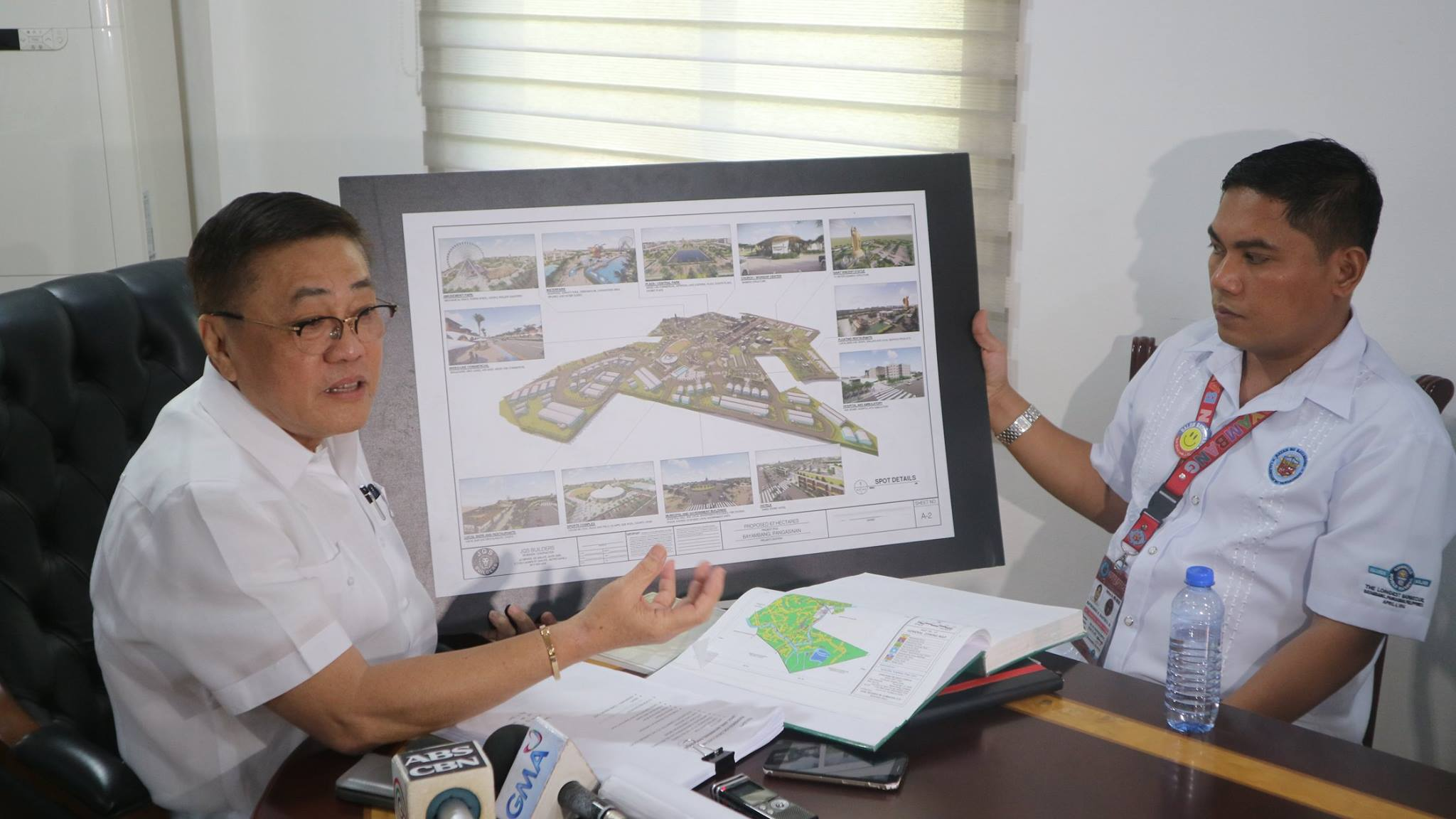 Mayor CTQ, again in dialogue with occupants of Bani property
