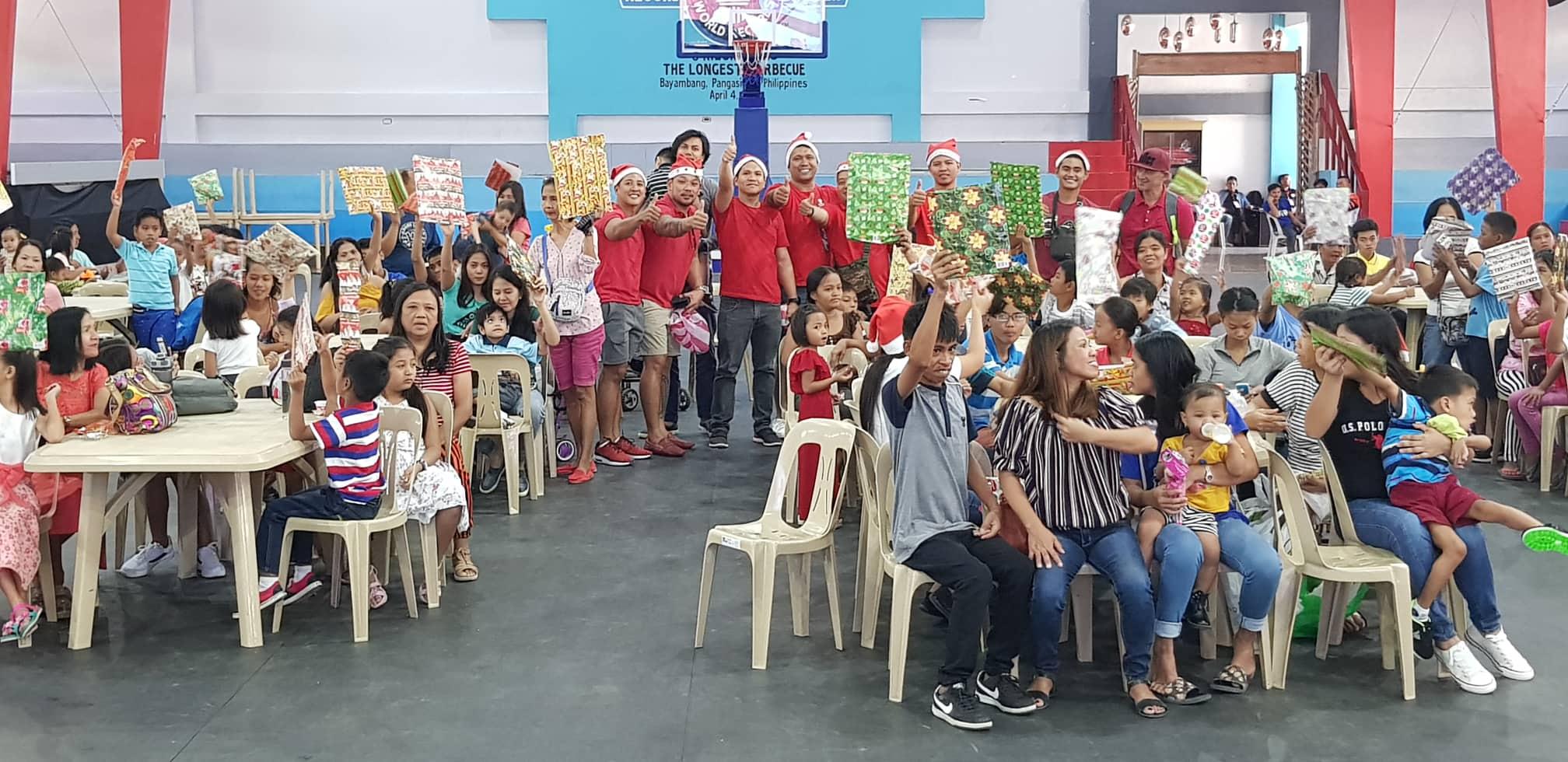 Grupo ng Bodybuilders, Nagbigay Saya sa mga Miyembro ng STAC