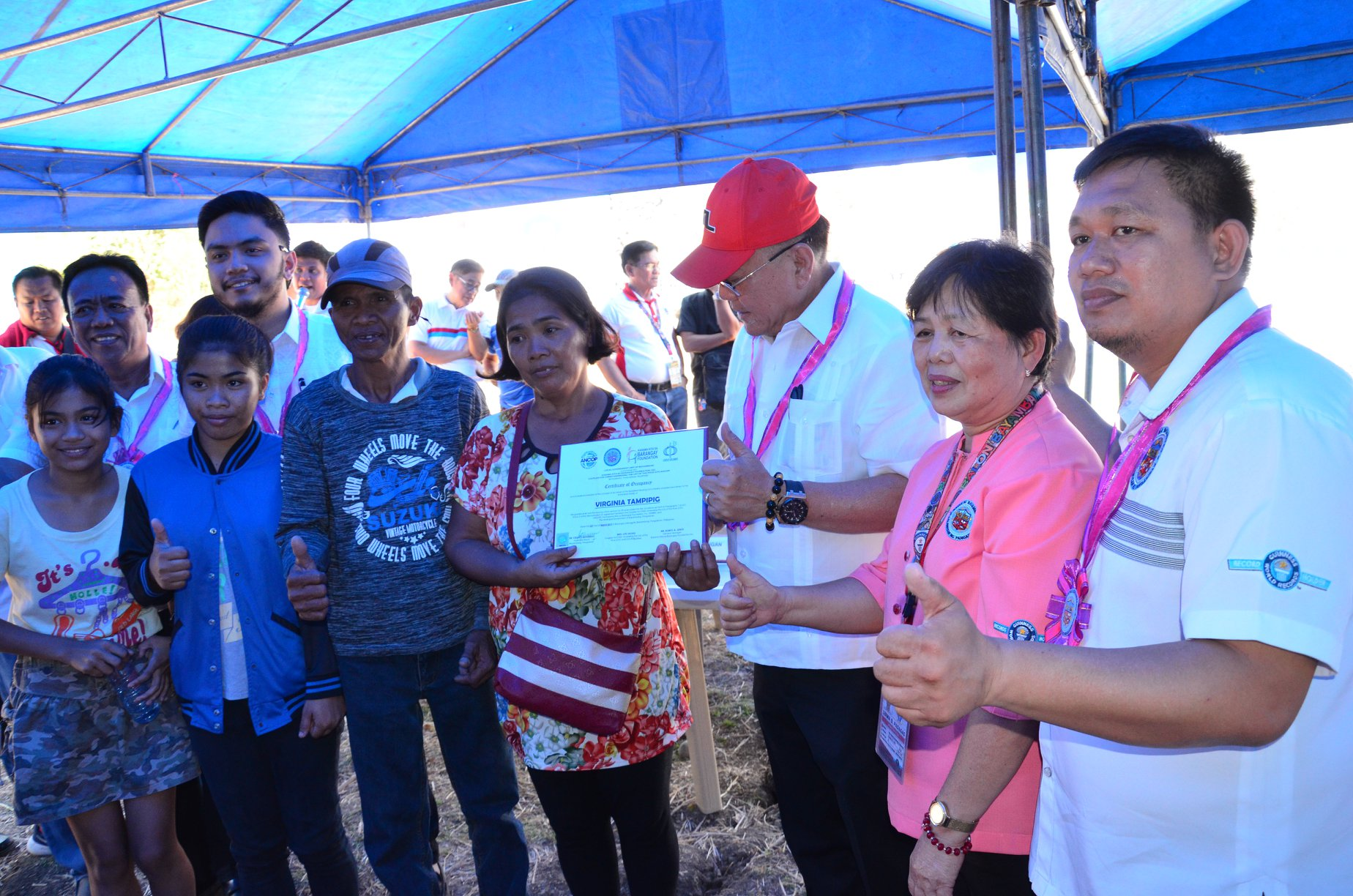 LAND DEVELOPER NA ANG LGU-BAYAMBANG!   Groundbreaking of LGU Bayambang Employees Housing Project, Signing of a Memorandum of Understanding and Distribution of Notice of Approval for the Villa Magsaysay Housing Project, and Awarding of 30 Housing Units for the CFC-ANCOP Village Socialized Housing Project
