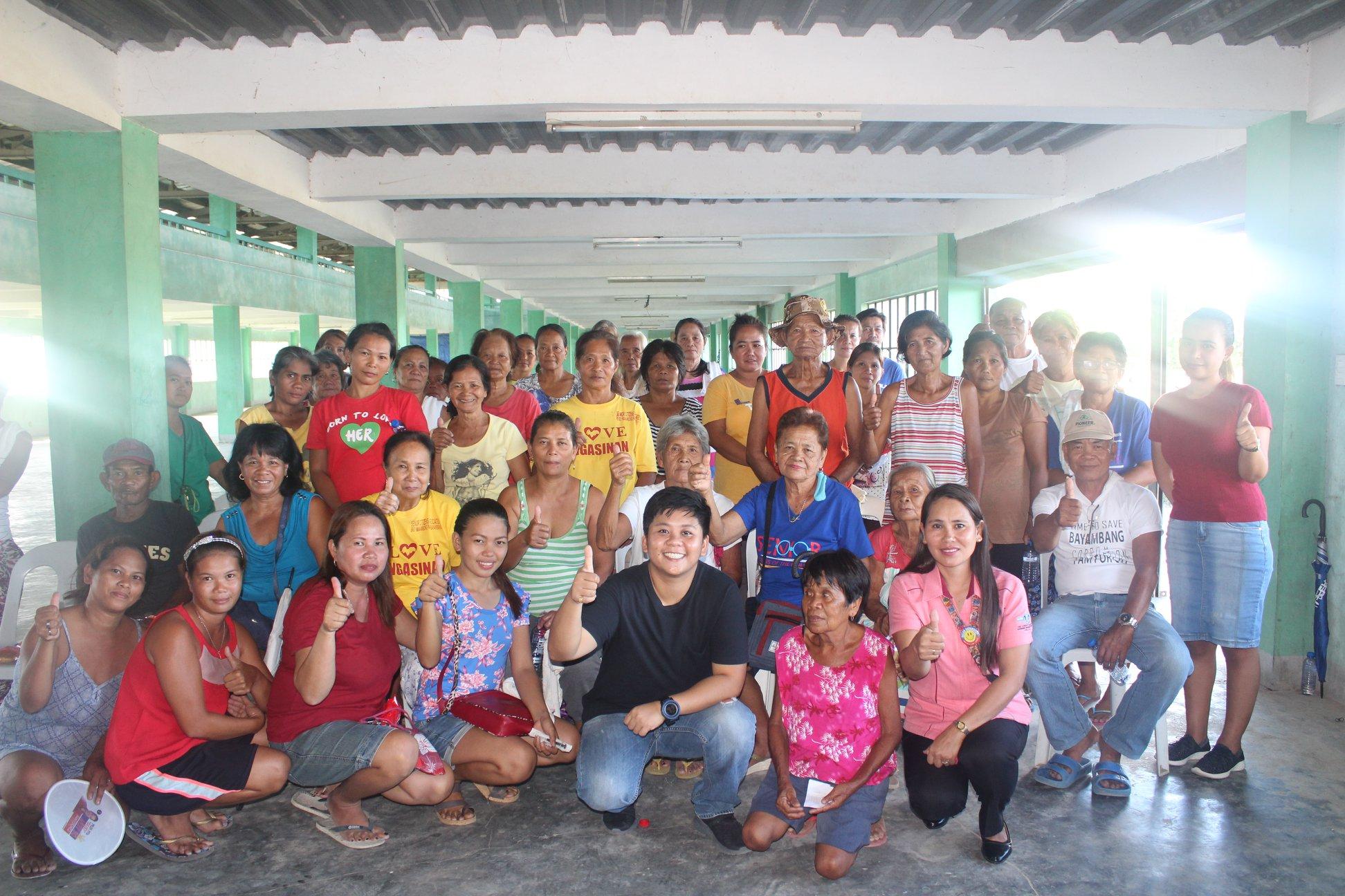 Health Teaching in Barangay Manambong Parte and Barangay Bongato East