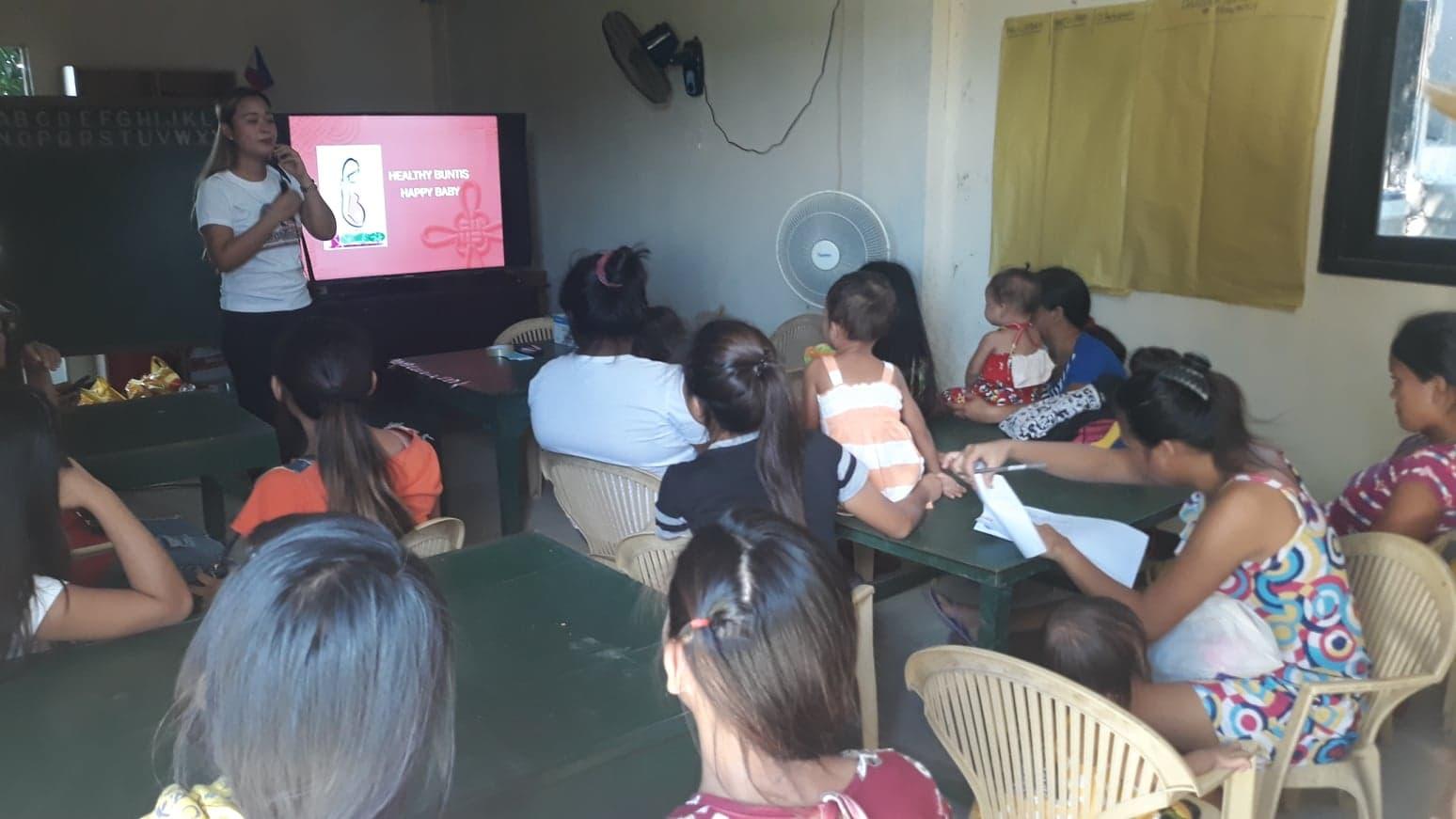 "RHU I Conducts ""Usapang Teenage Parents/Program For Youth Parents"""