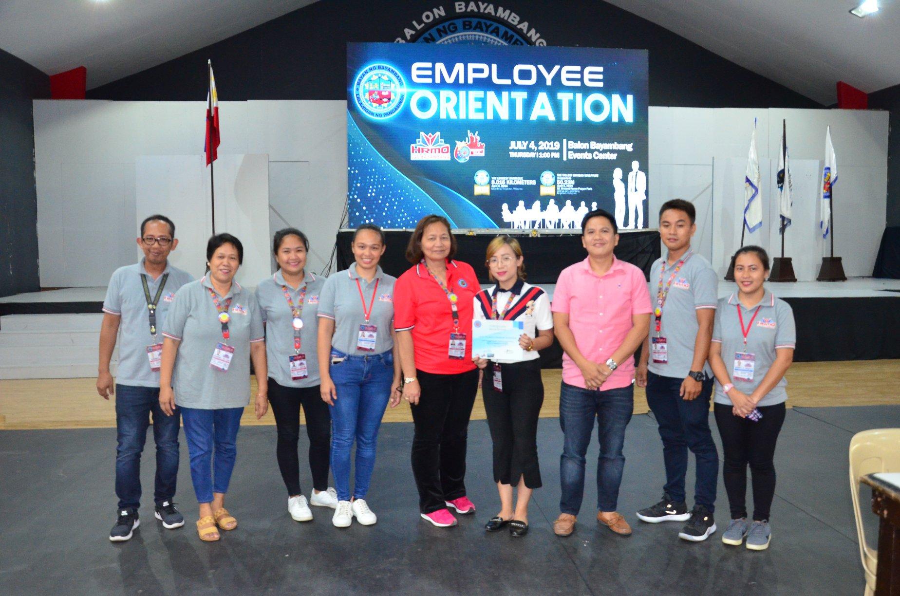 HRMO Orientation para sa mga JOs ng LGU, Ginanap