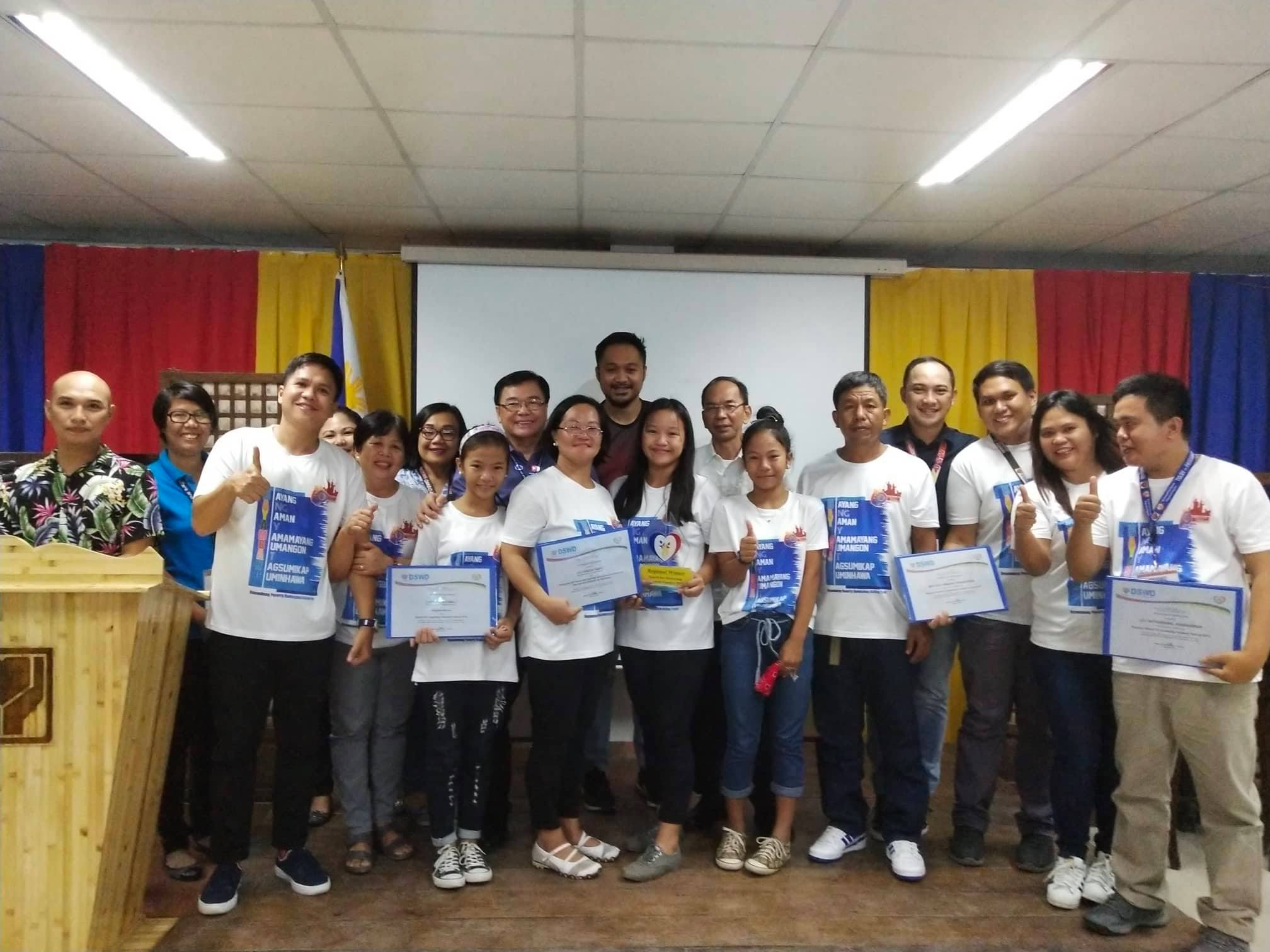 DSWD Huwarang Pamilya entry wins at the Regional Level