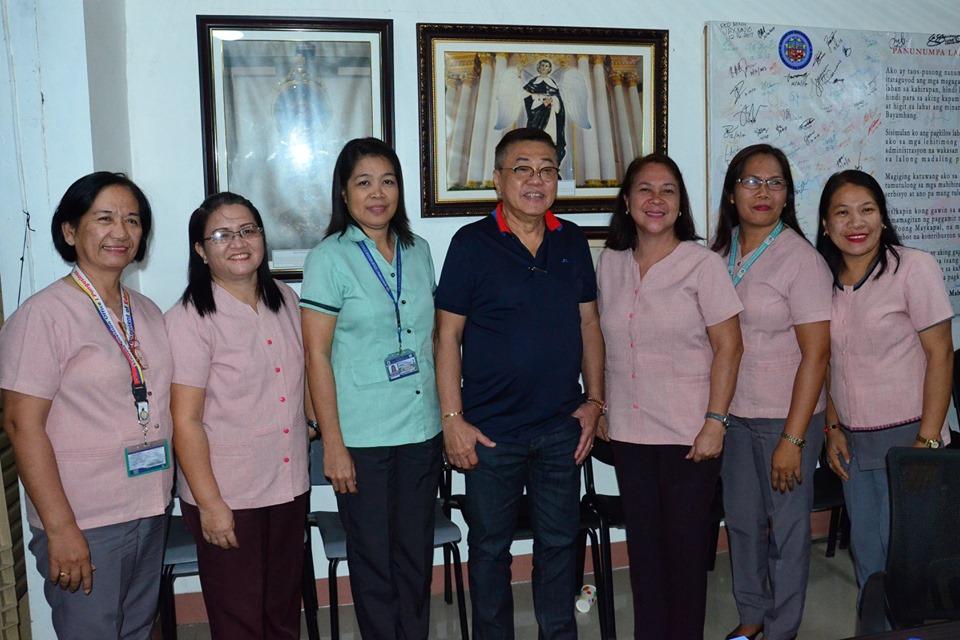 Bagong PSDS at Bayambang II Principal, Nagcourtesy-call kay MCTQ