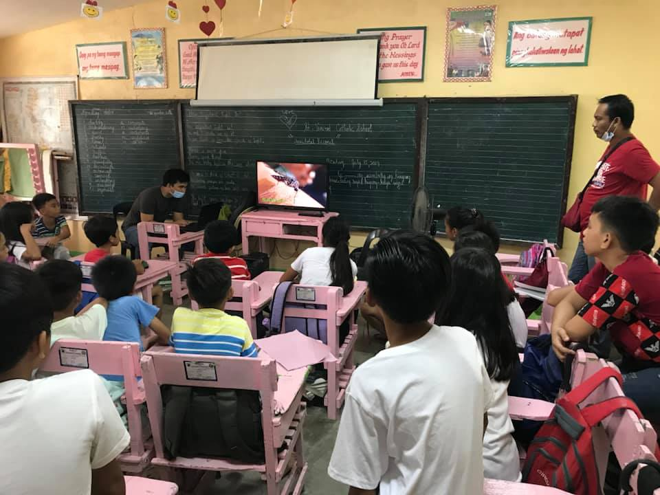 Rural Health Unit II conducted 'Healthy Young Ones' Lecture and IEC on dengue fever at Telbang Elementary School