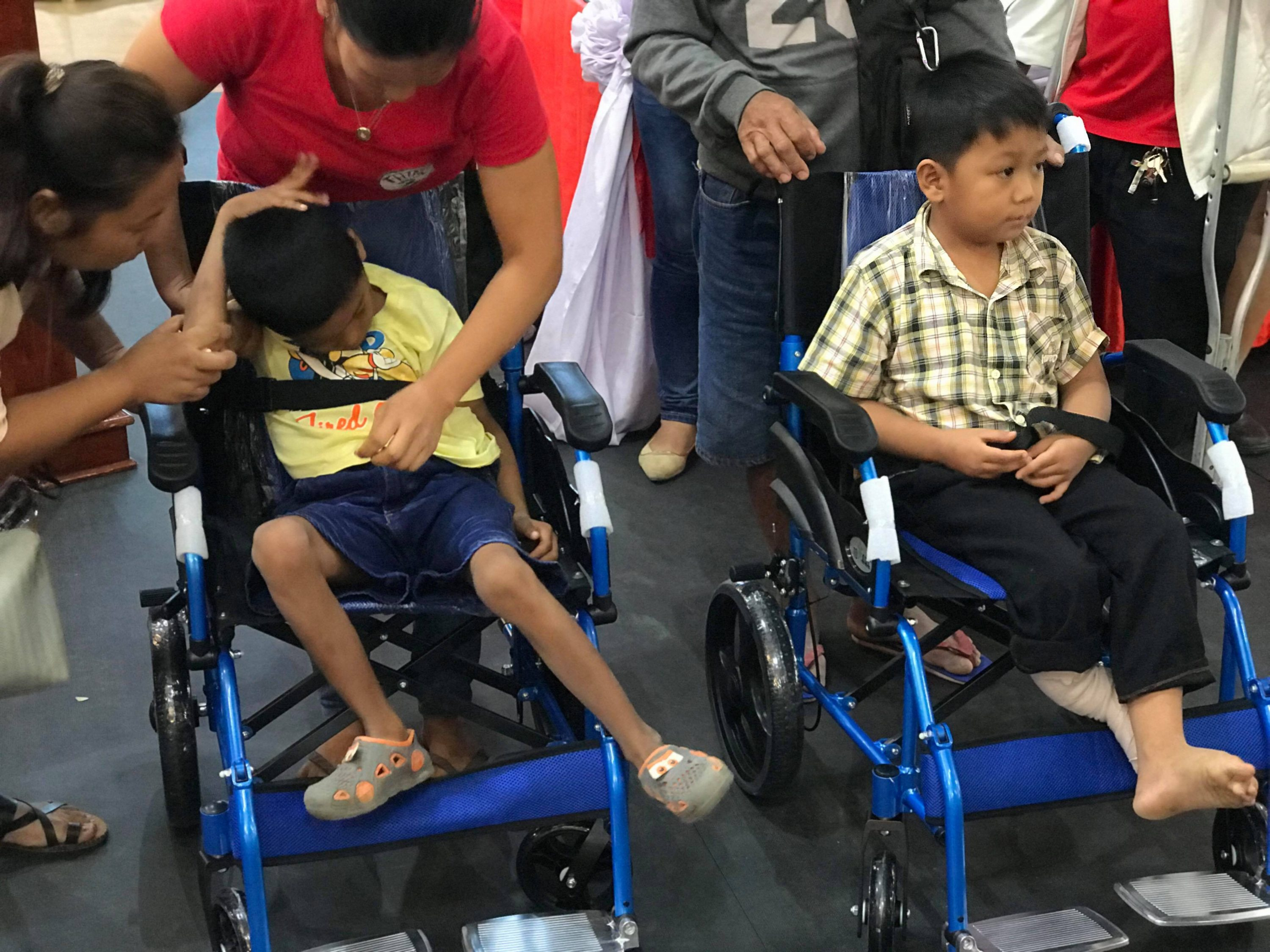 30 Adult Wheelchairs for Free