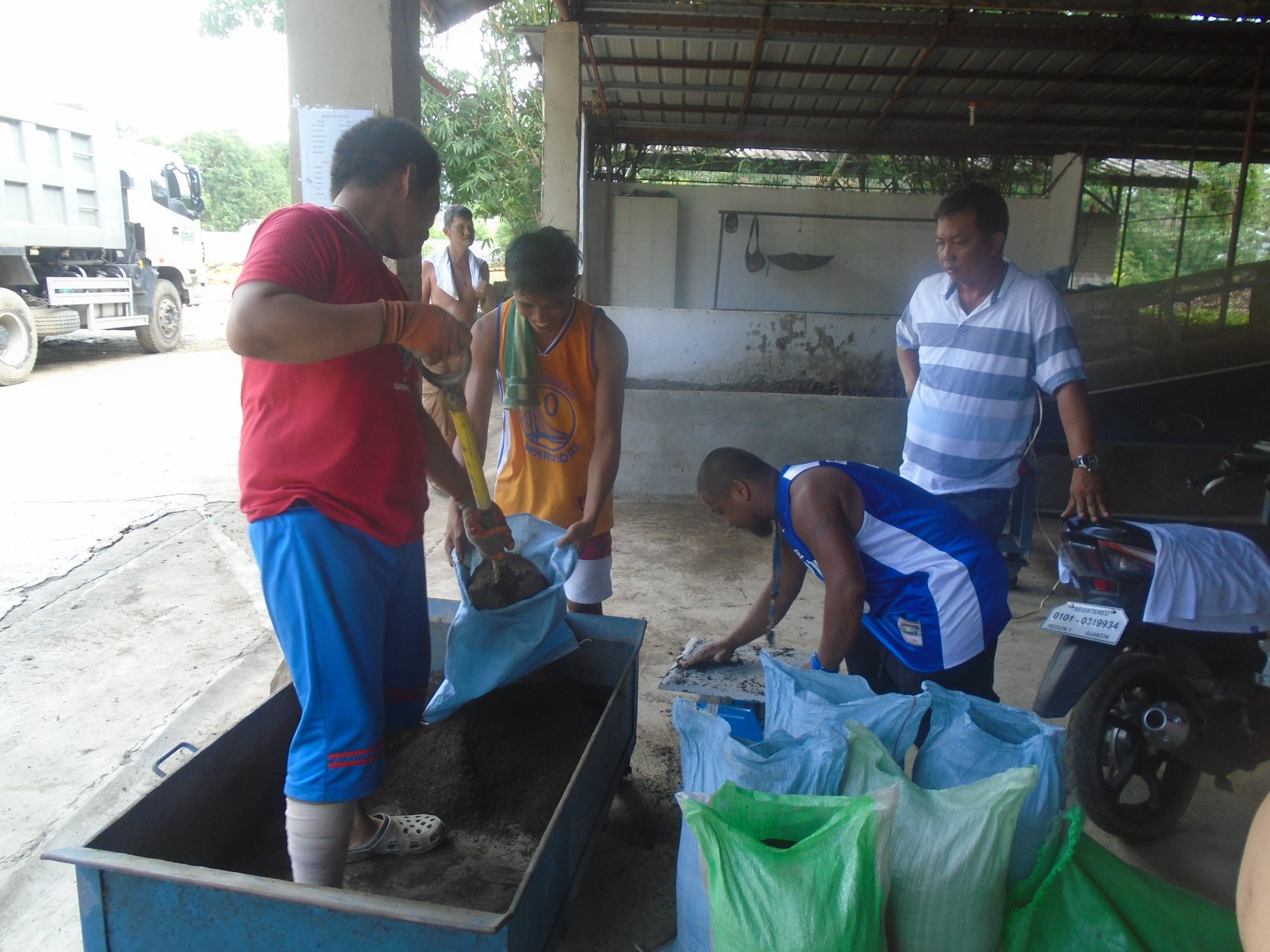 Massive Production of Organic Compost from Biodegradable Waste at Materials Recovery Facility, Brgy. Dusoc
