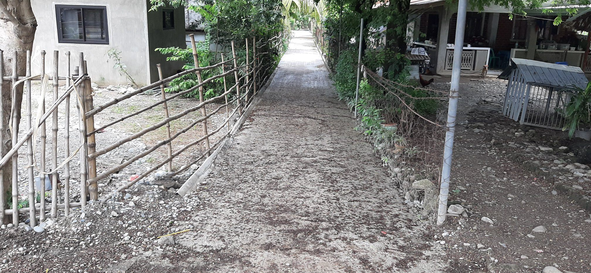 On-going Construction of Core Local Access Road Project in Brgy. Nalsian Sur